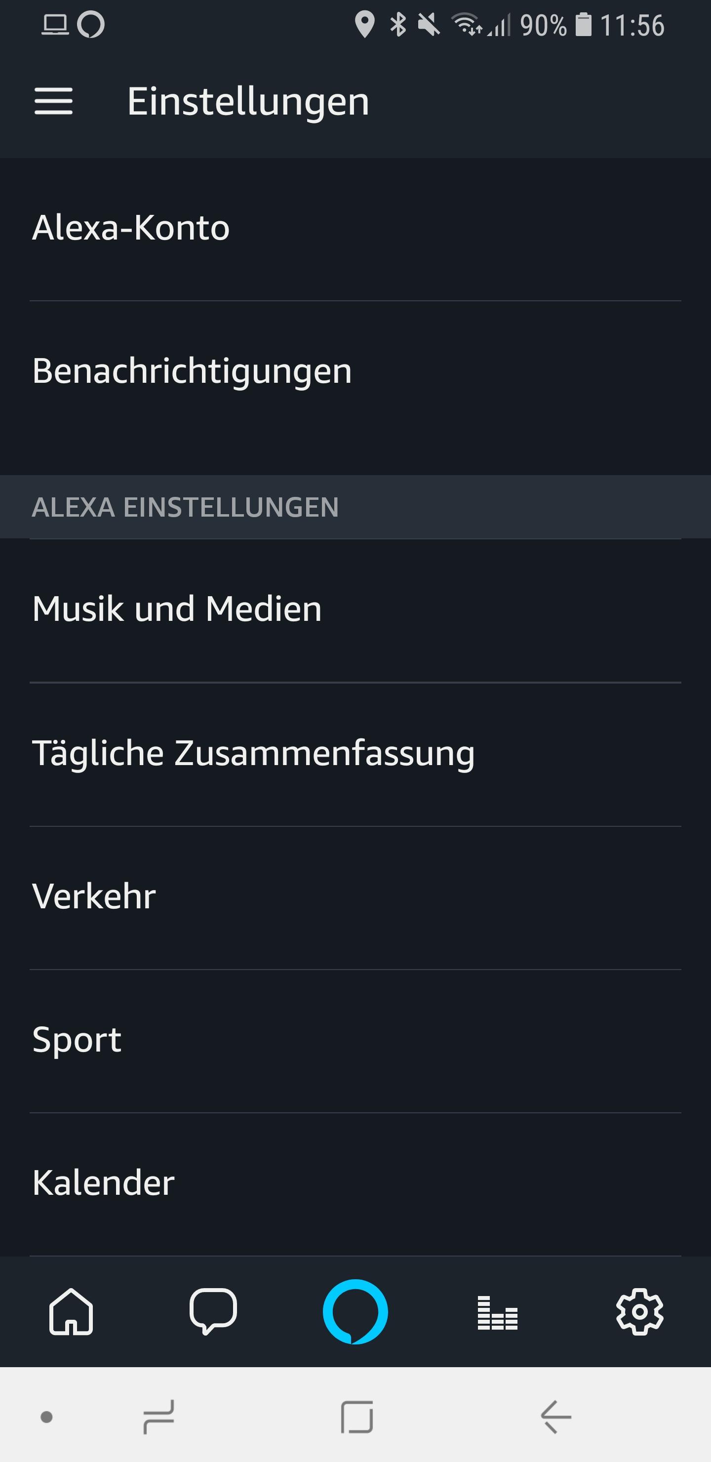 Alexa Kurzmodus Briefmode 01