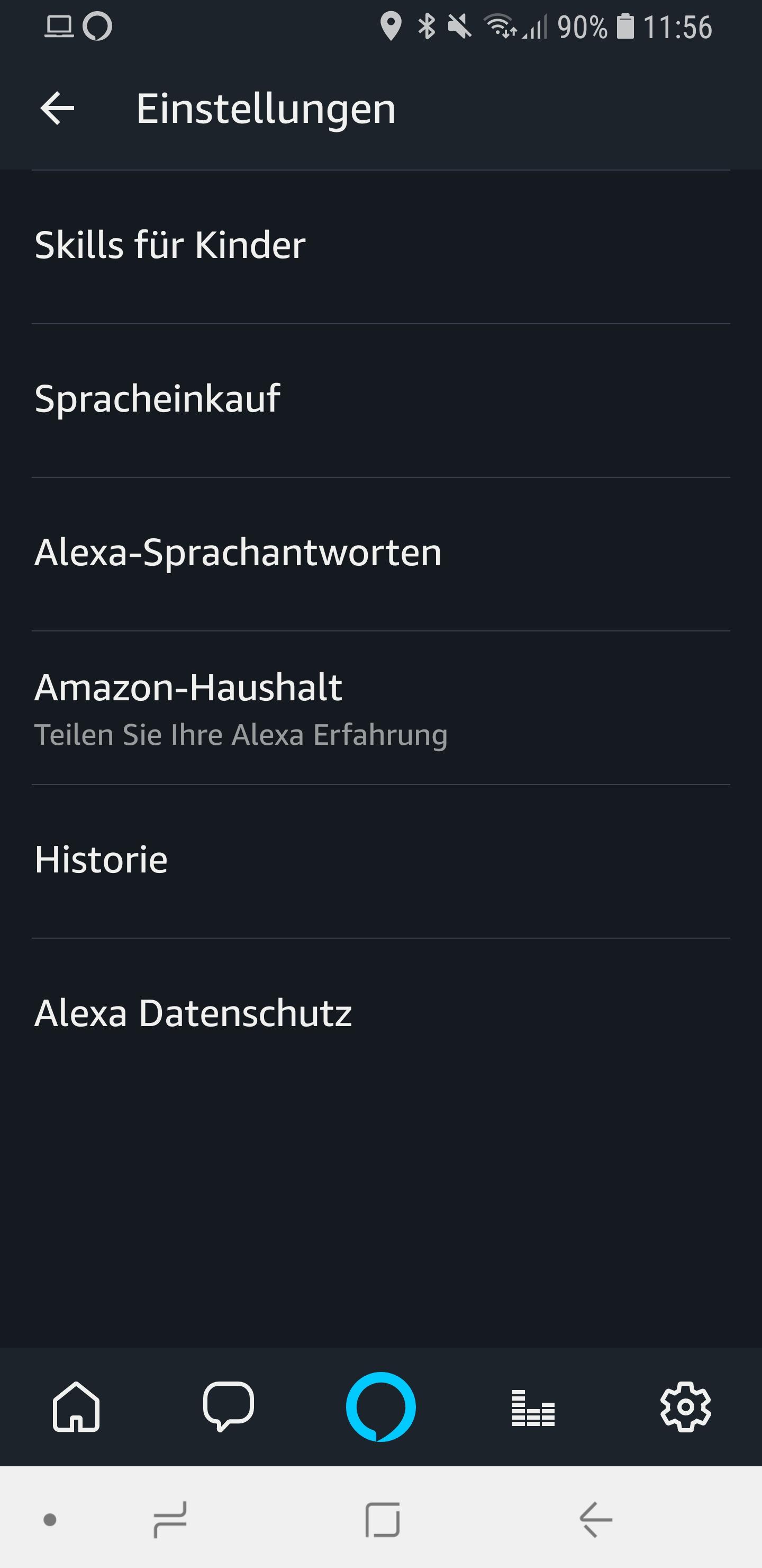 Alexa Kurzmodus Briefmode 02