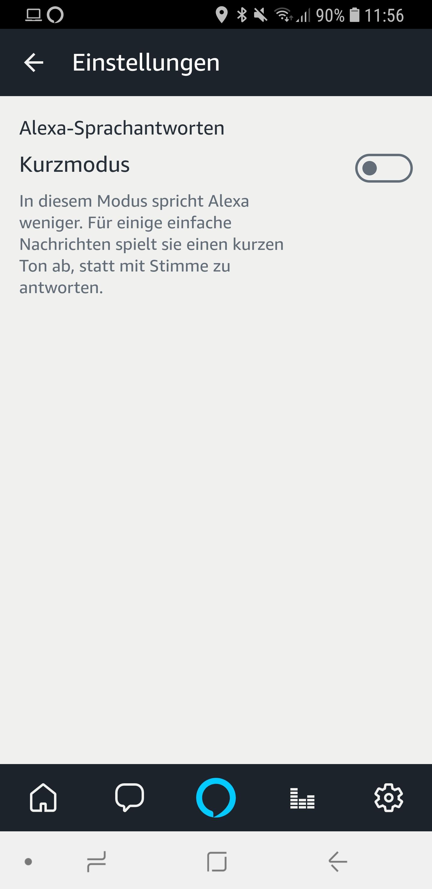 Alexa Kurzmodus Briefmode 03