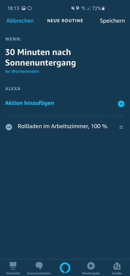 Alexa-Routine-Sonnenuntergang-13