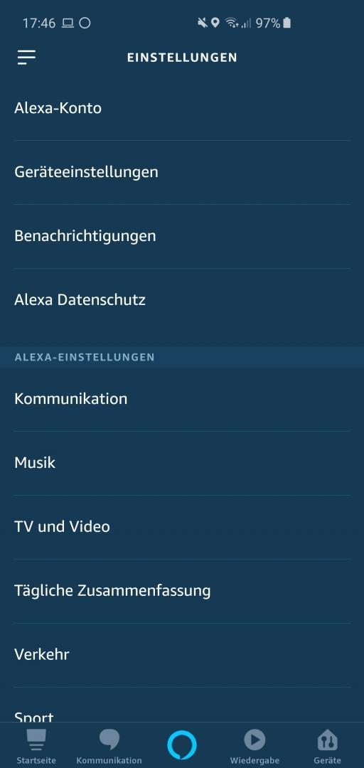 Alexa Sprachaufzeichungen löschen 1