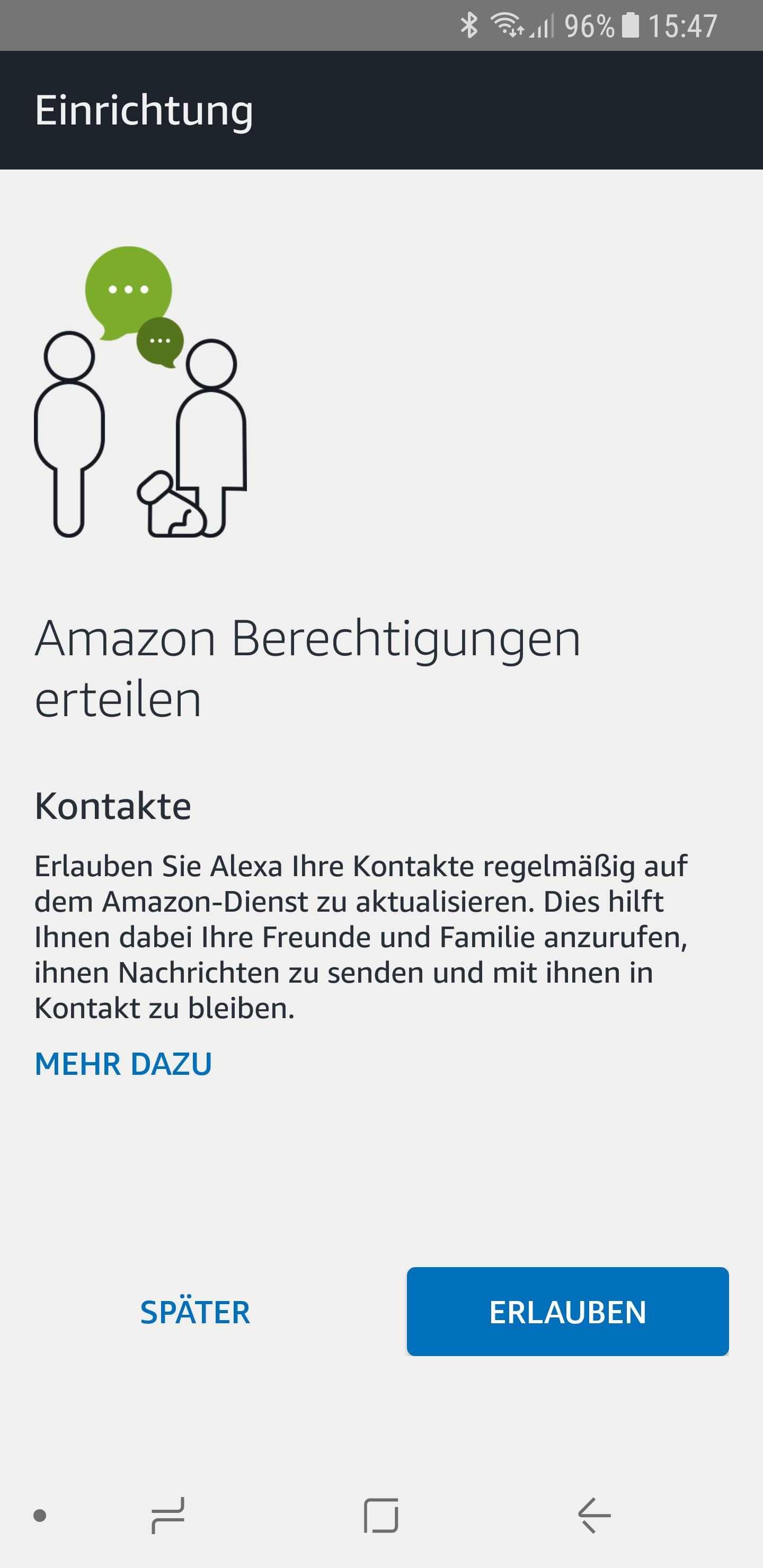 Alexa Telefonfunktion einrichten 3