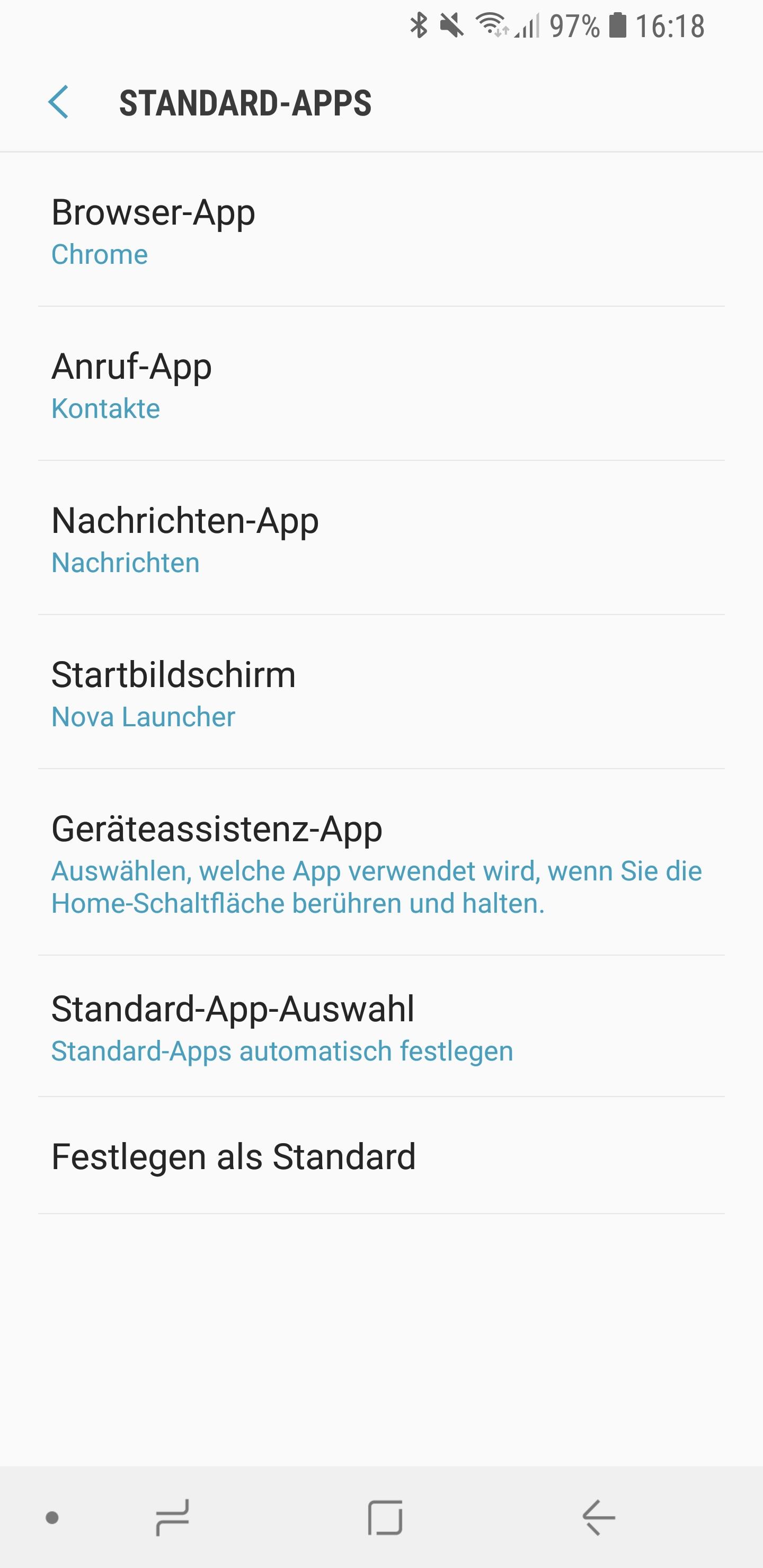 Amazon Alexa als Standard Sprachassistent auf Smartphone 03