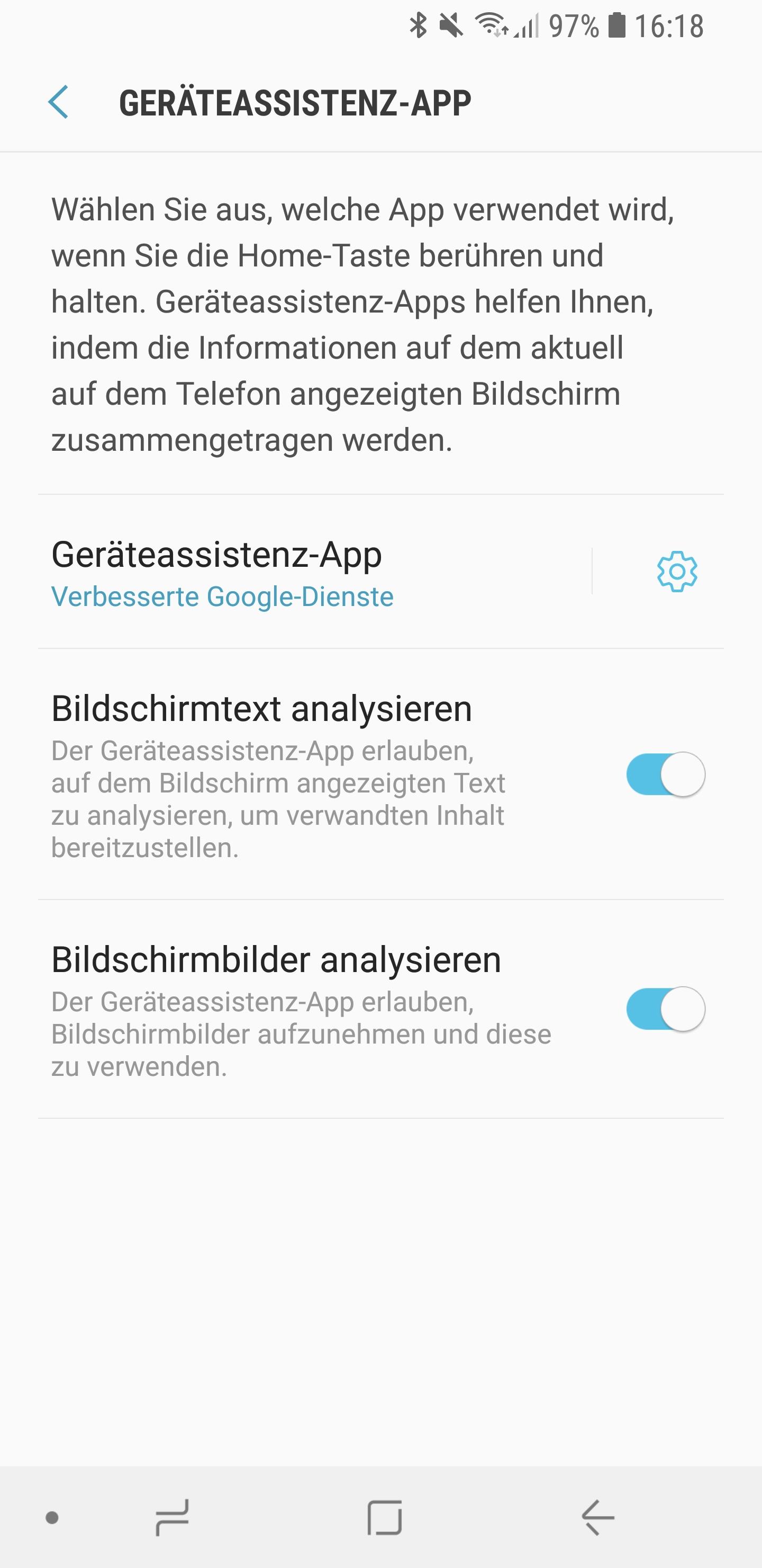 Amazon Alexa als Standard Sprachassistent auf Smartphone 04