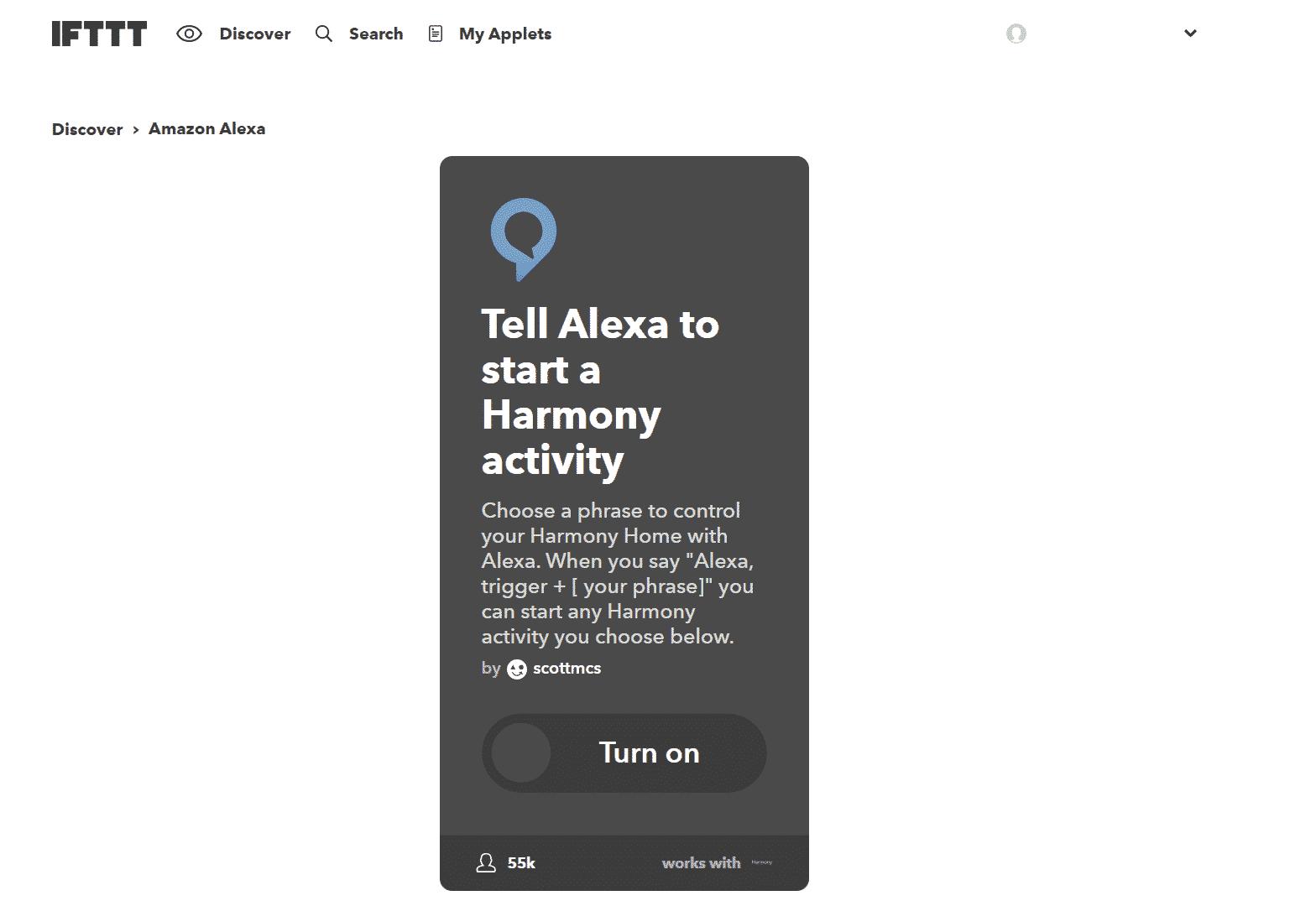 Amazon-Alexa-mit-Logitech-Harmony-Hub-und-IFTTT-Applet-1