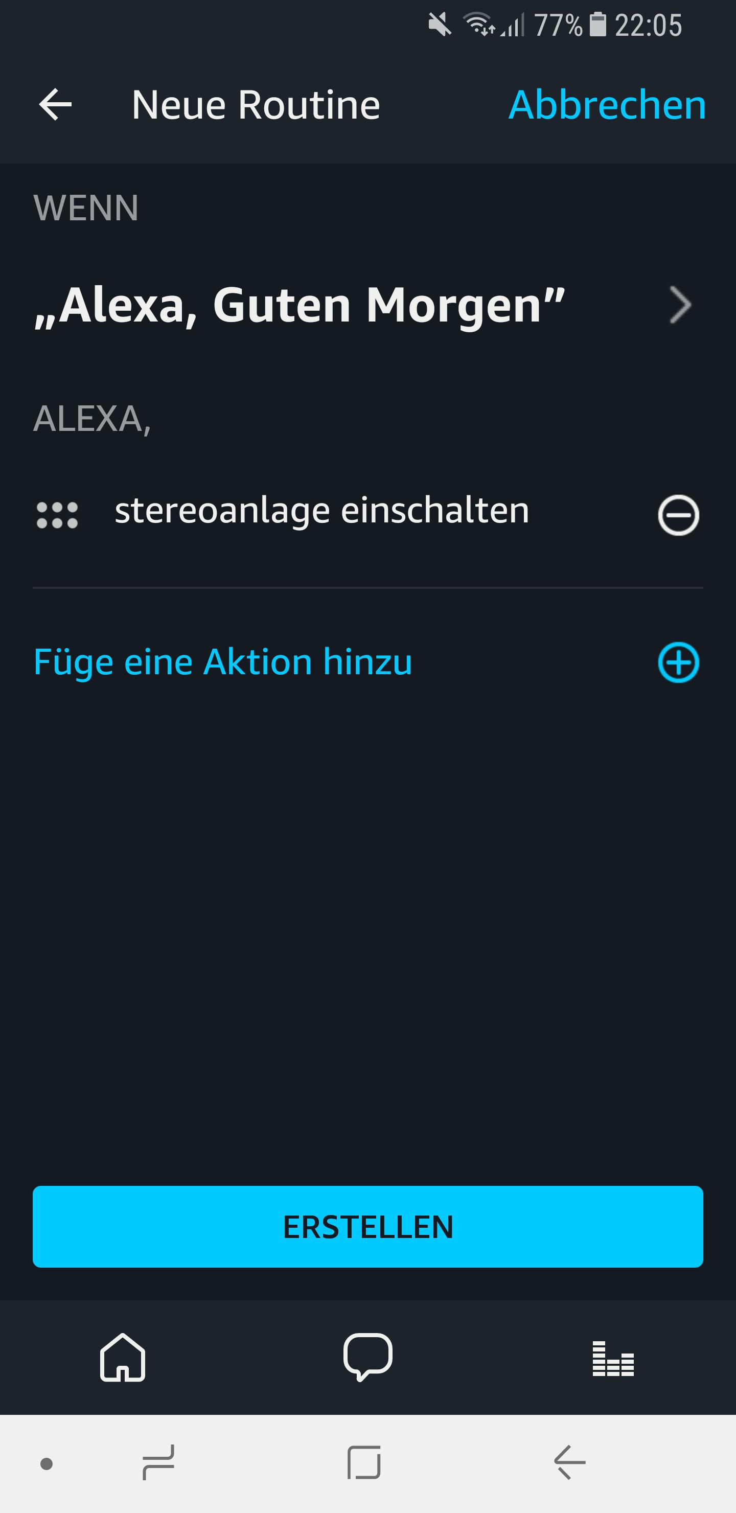 Routinen in der Amazon Alexa App einrichten und nutzen 12