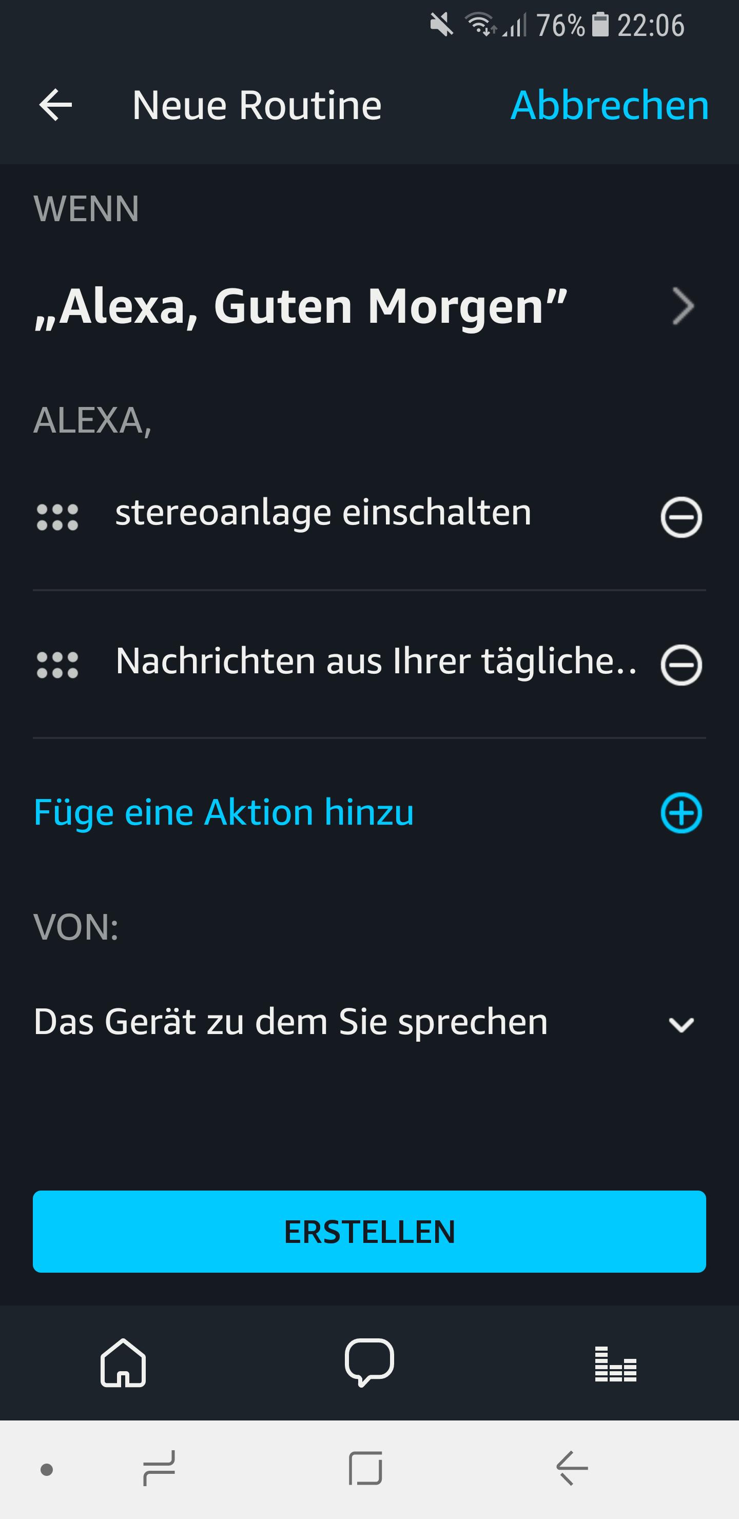 Routinen in der Amazon Alexa App einrichten und nutzen 15