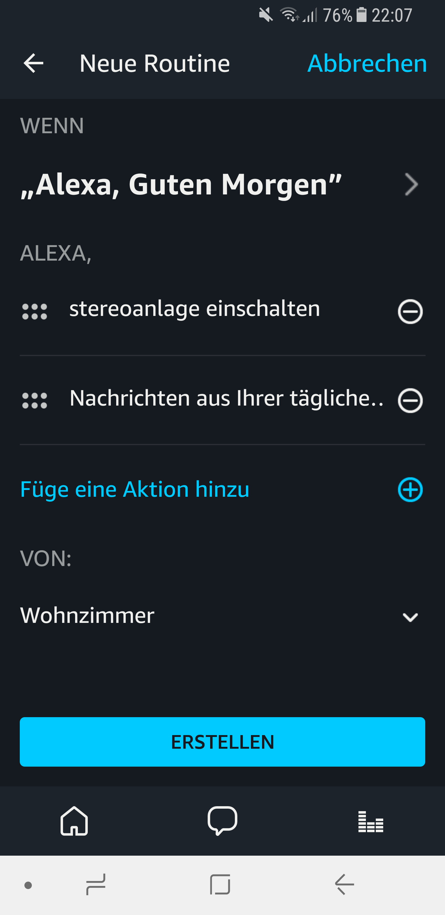Routinen in der Amazon Alexa App einrichten und nutzen 17