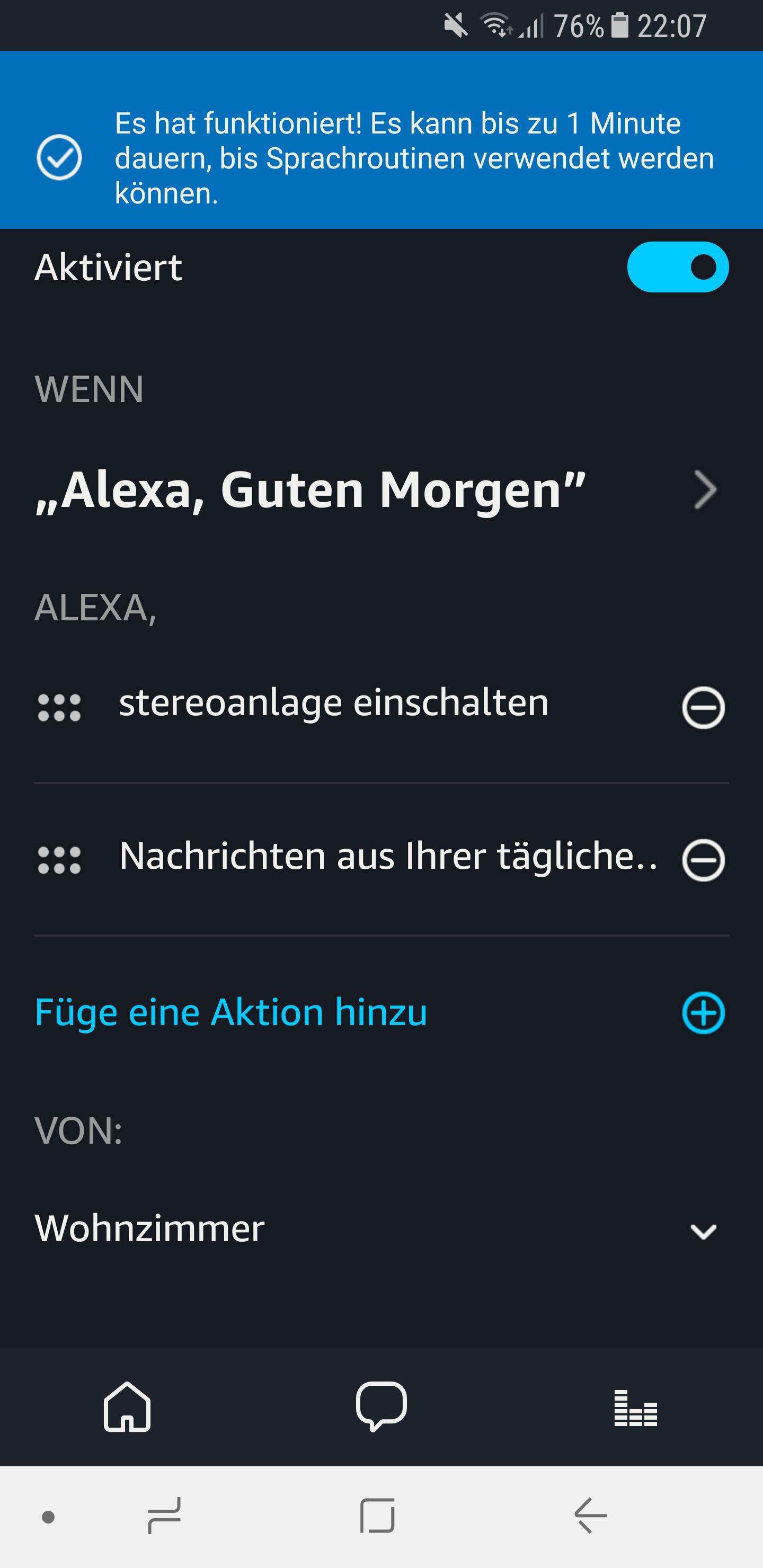 Routinen in der Amazon Alexa App einrichten und nutzen 18