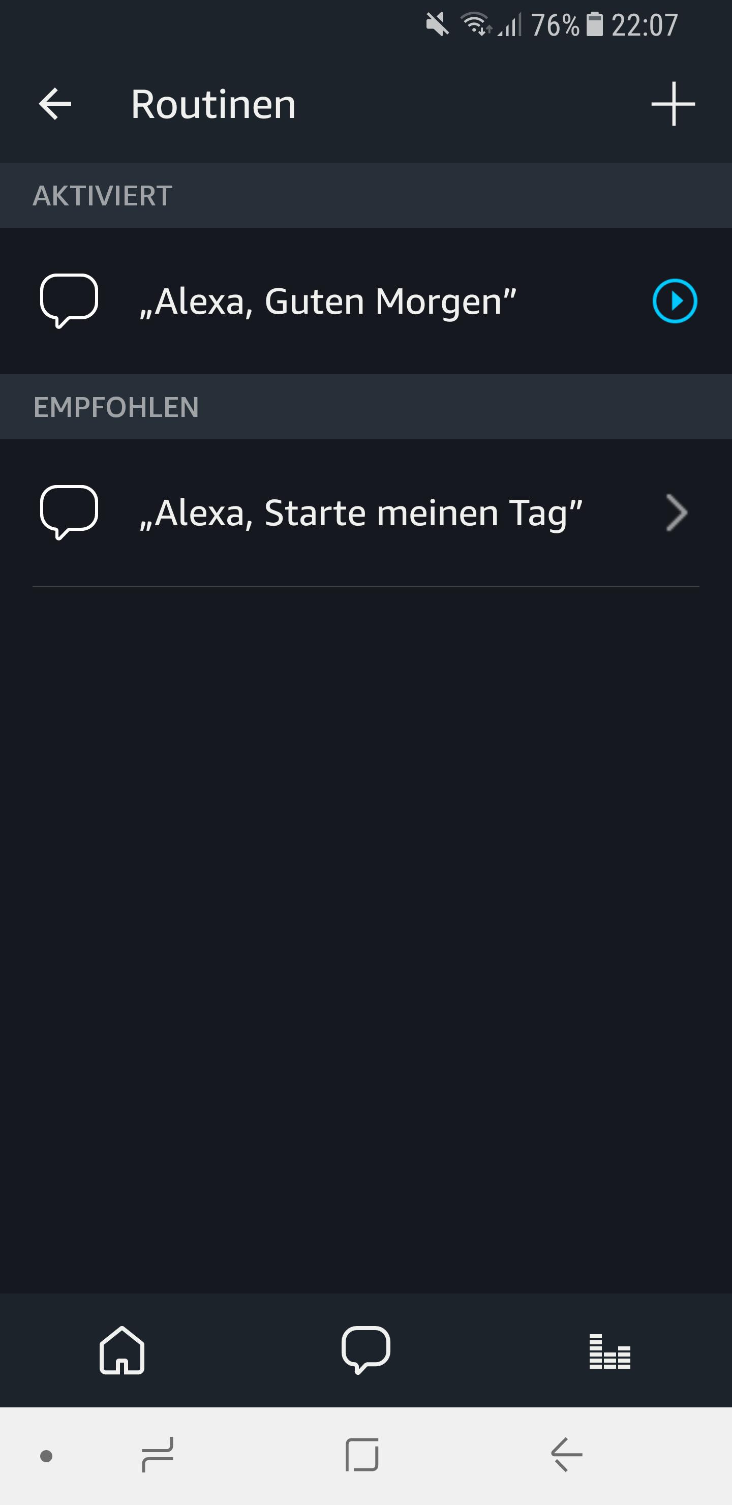 Routinen in der Amazon Alexa App einrichten und nutzen 19
