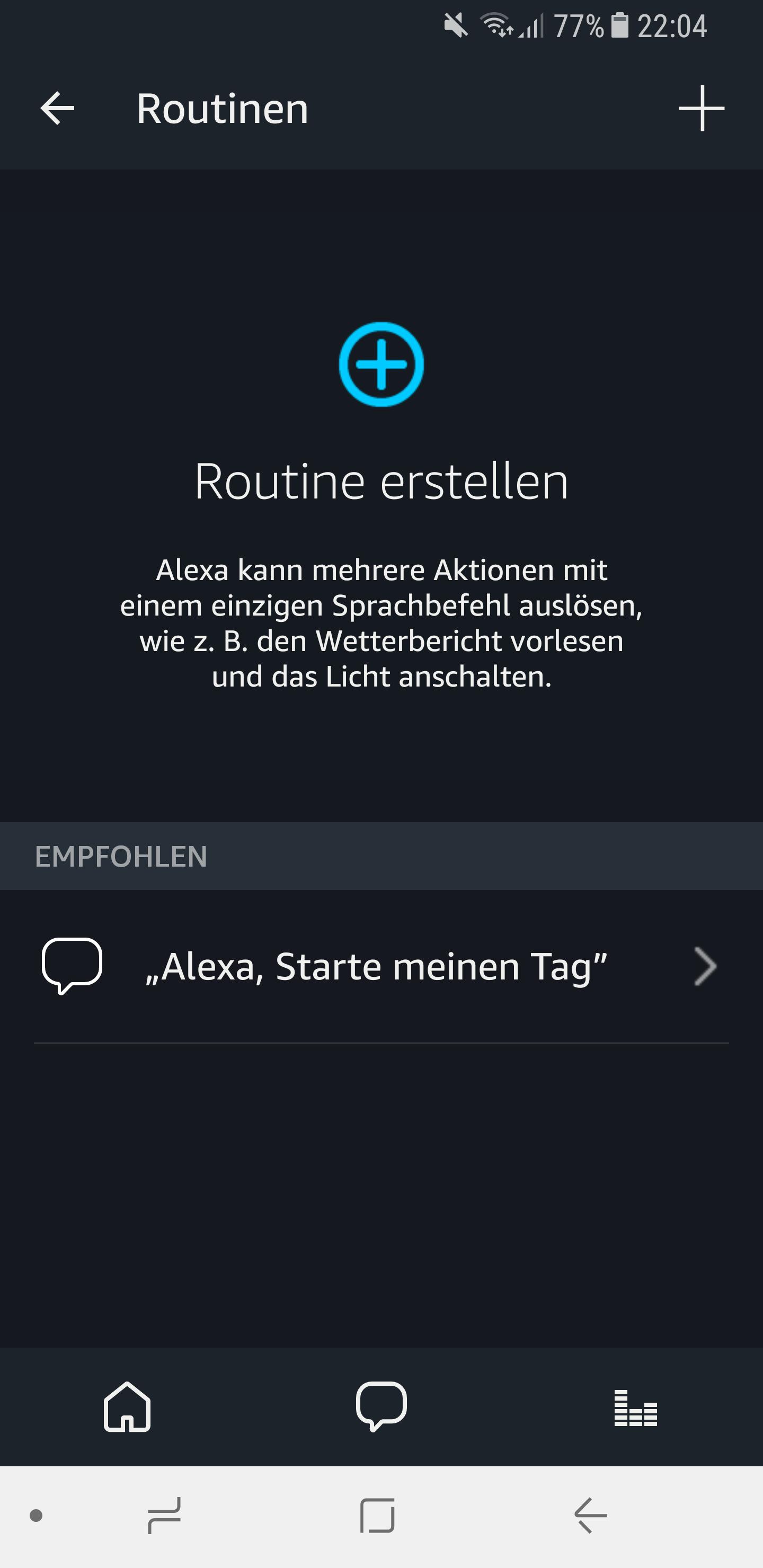 Routinen in der Amazon Alexa App einrichten und nutzen 2