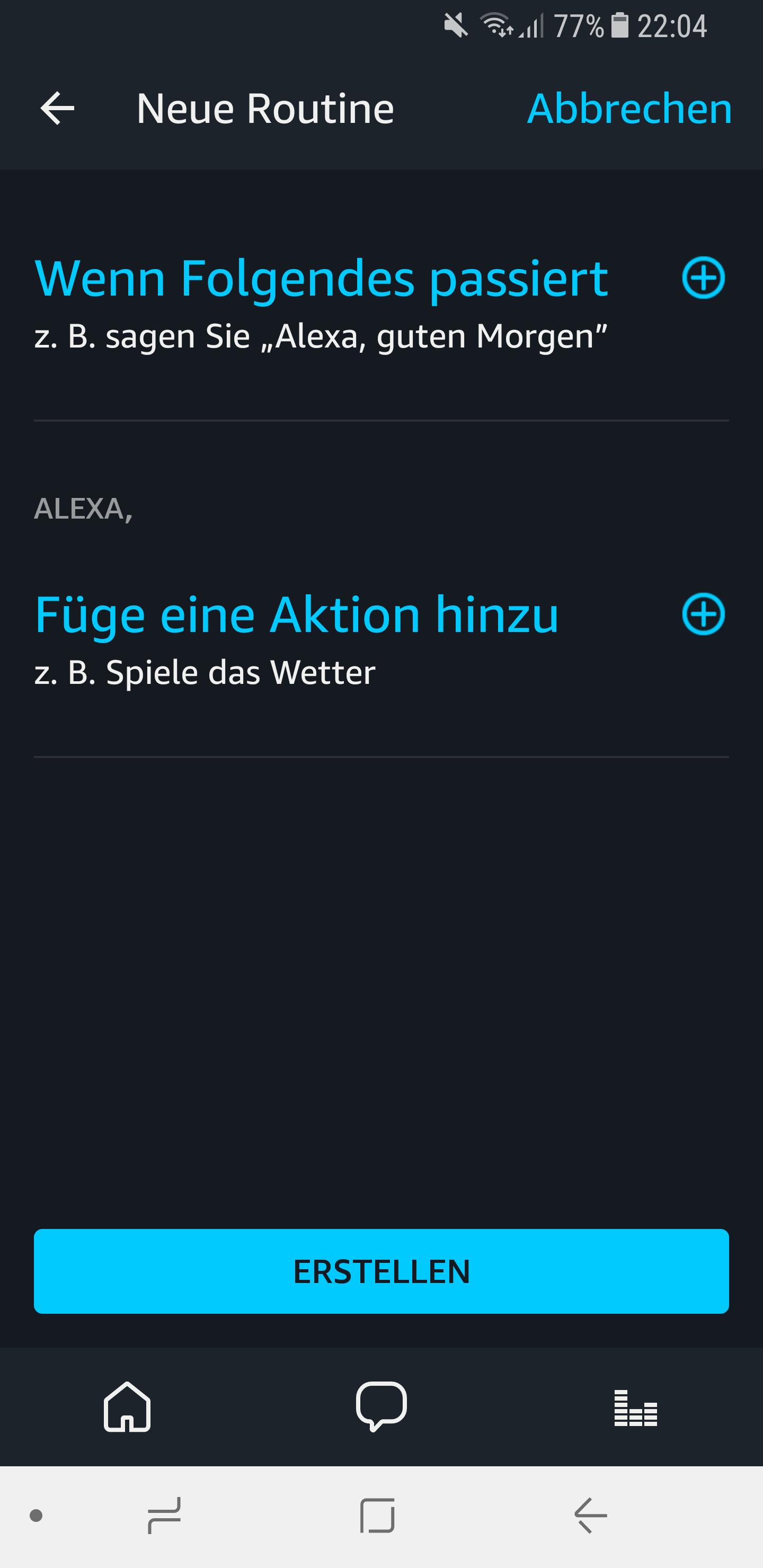 Routinen in der Amazon Alexa App einrichten und nutzen 3