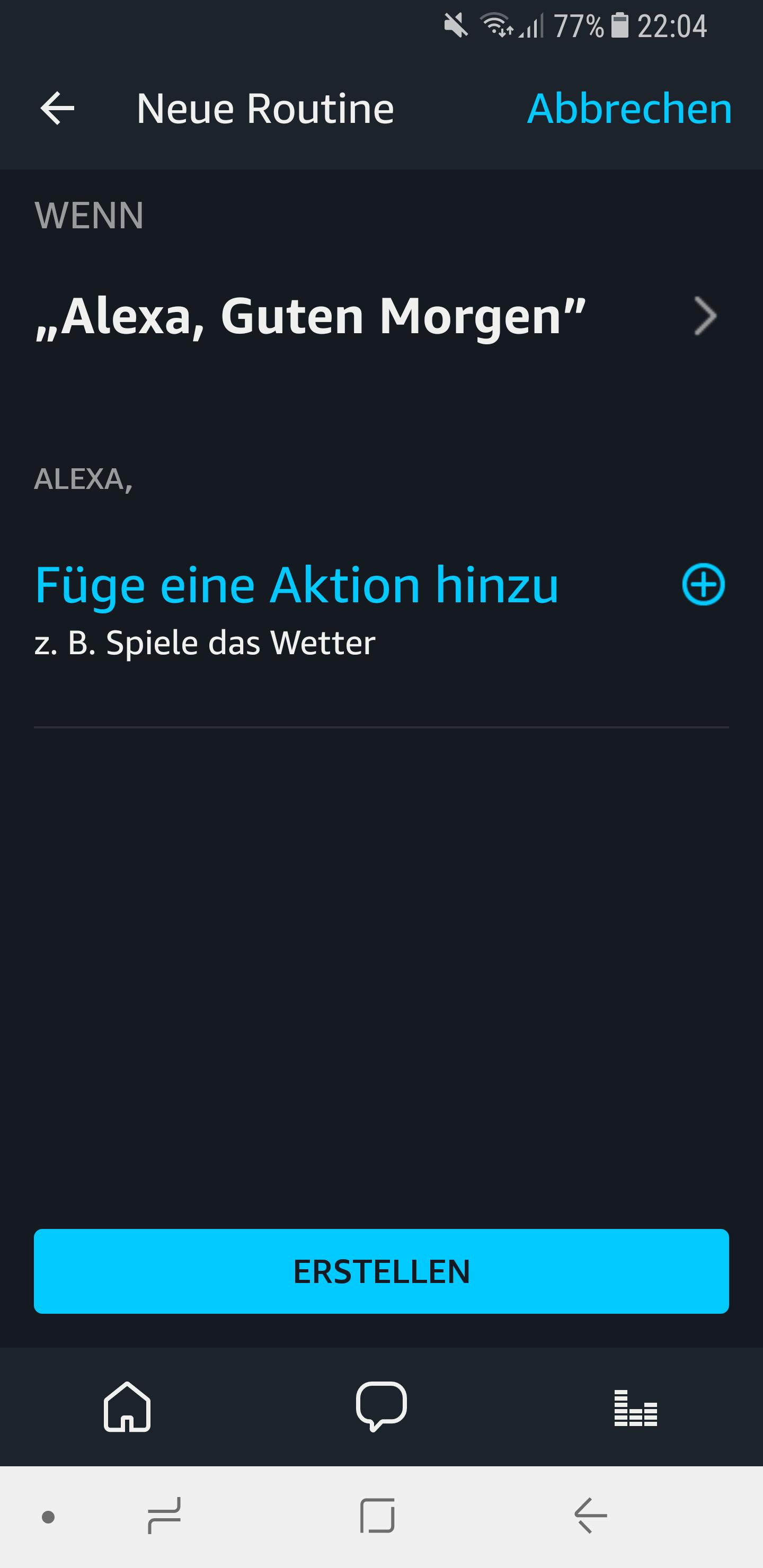 Routinen in der Amazon Alexa App einrichten und nutzen 6
