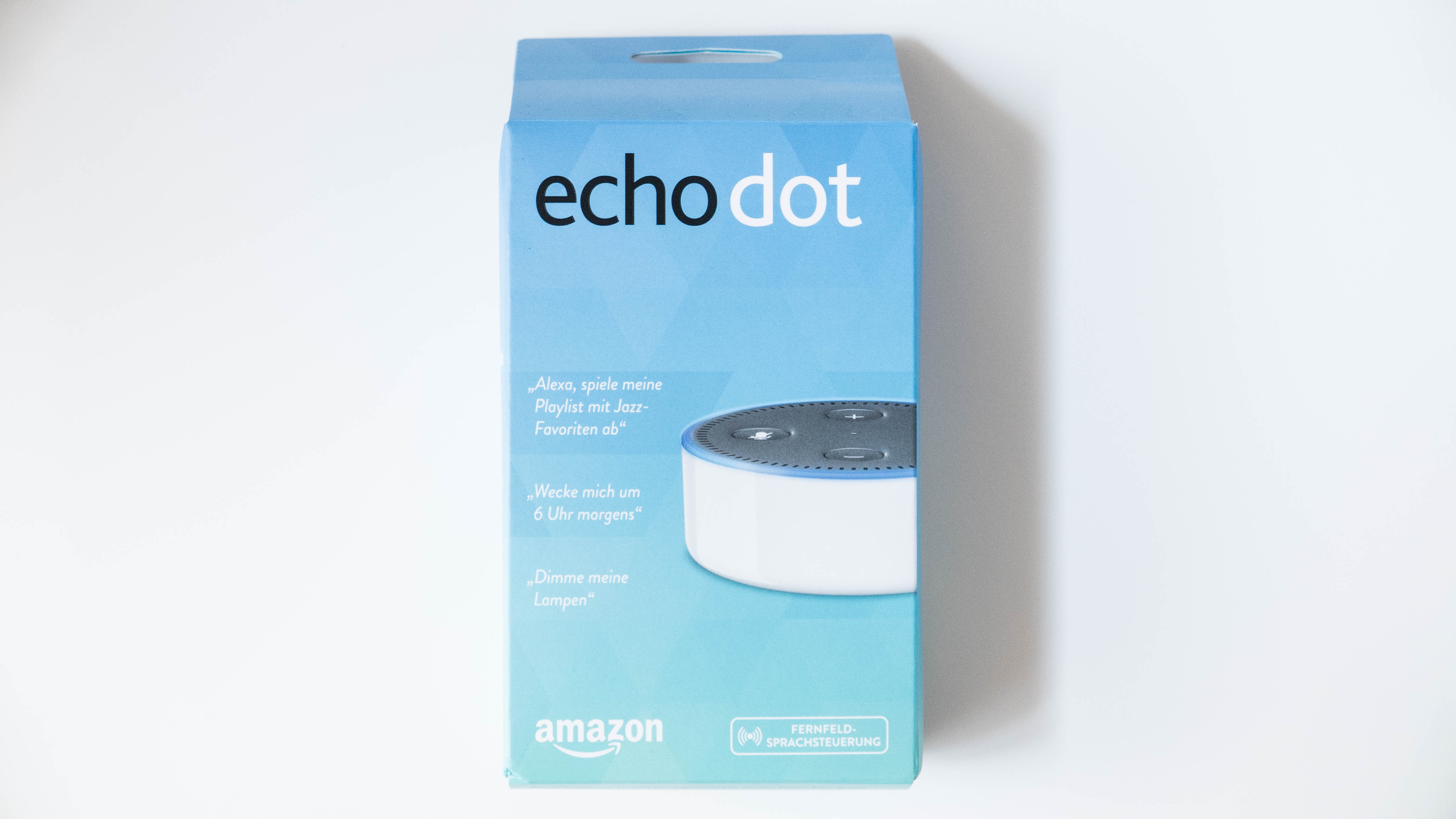 amazon echo dot der 2 generation im test smarthomeassistent. Black Bedroom Furniture Sets. Home Design Ideas