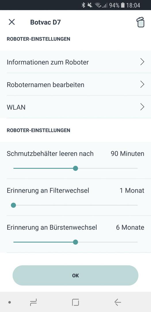 Neato Botvac D7 App Details 03