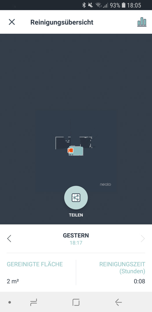 Neato Botvac D7 App Details 05