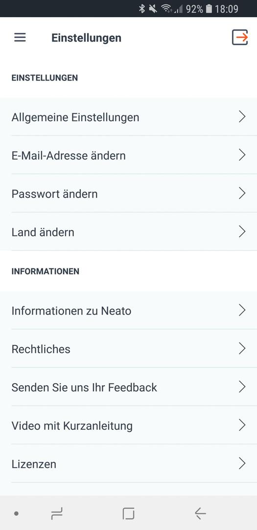 Neato Botvac D7 App Details 09