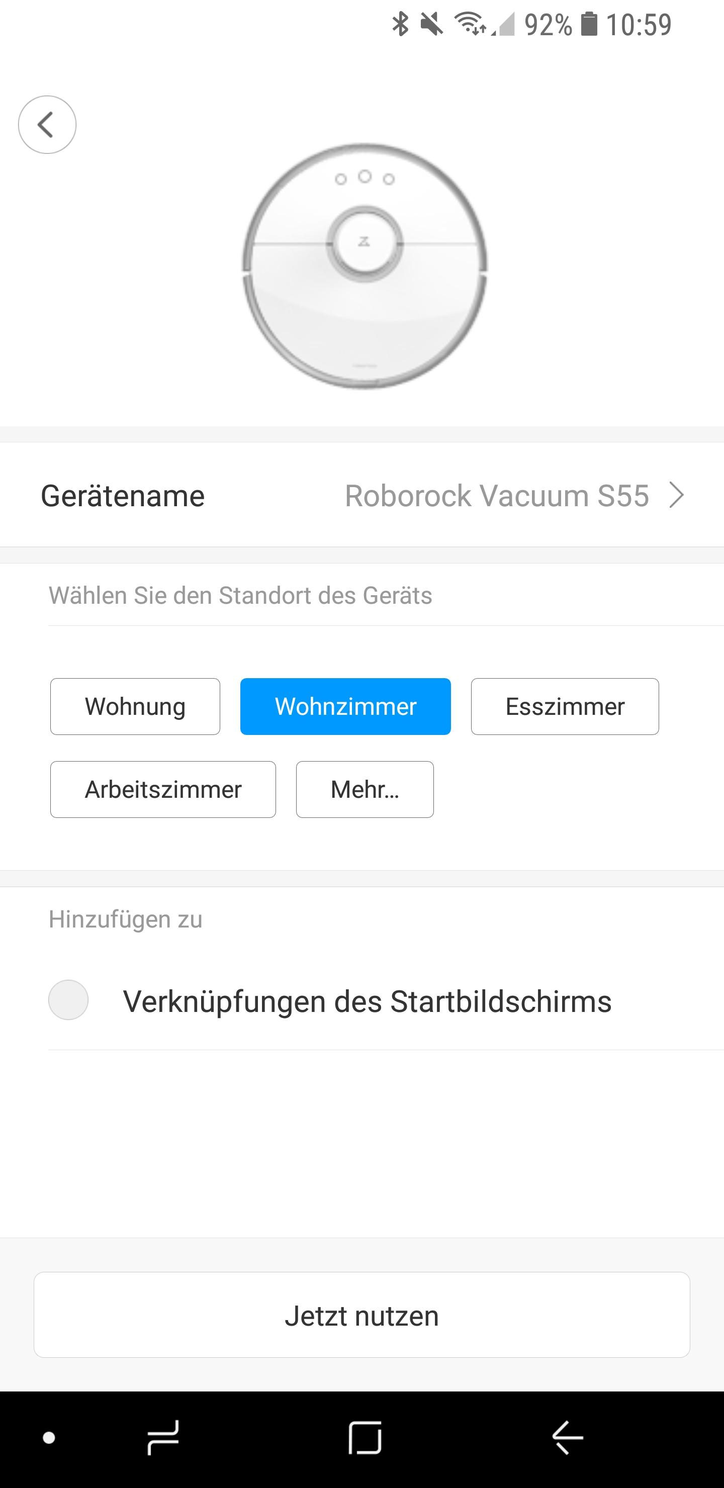 Xiaomi-roborock-S55-einrichten-7