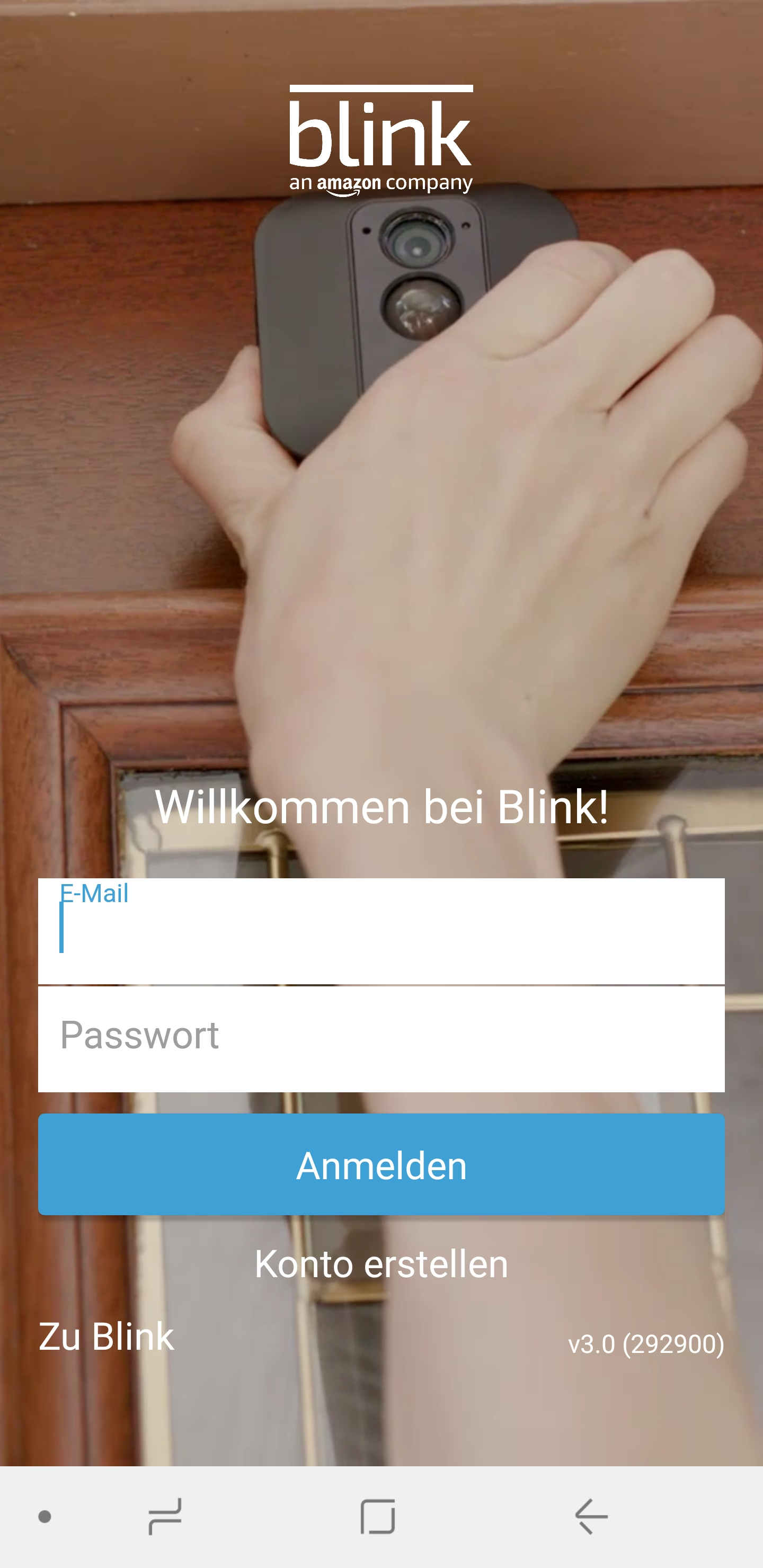 Blink Account erstellen 01