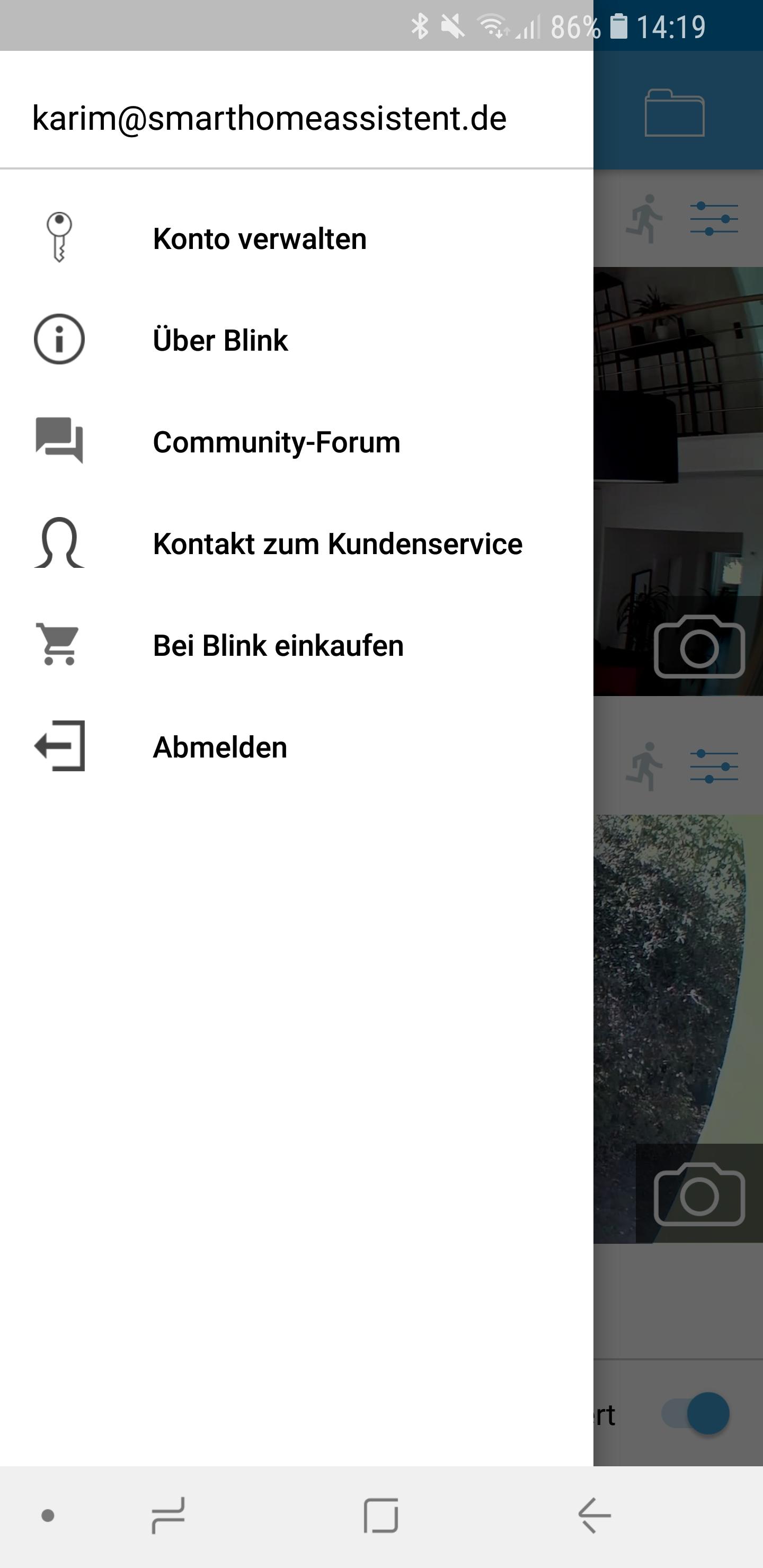 Blink XT App 02