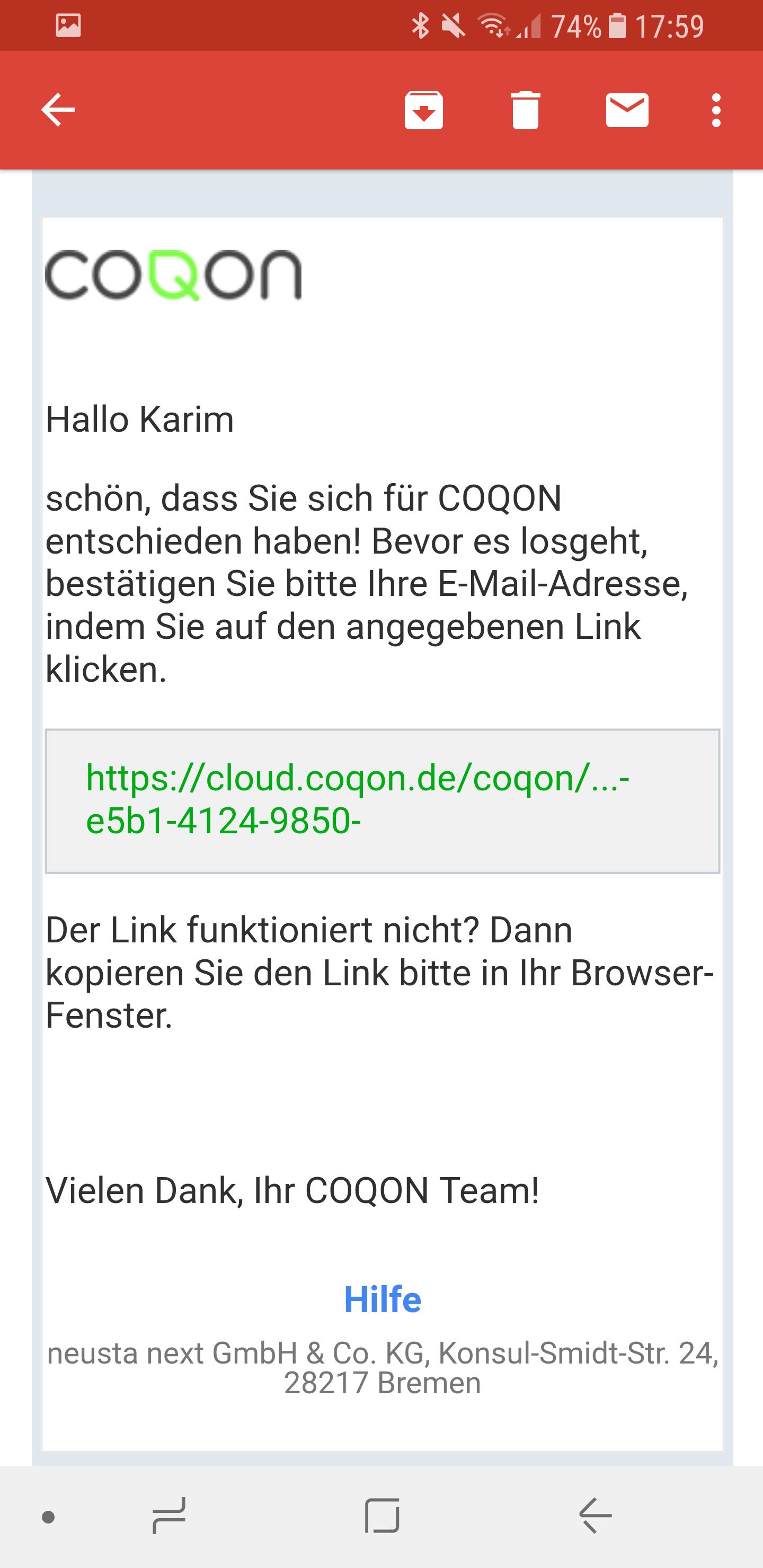 COQON App installieren 7
