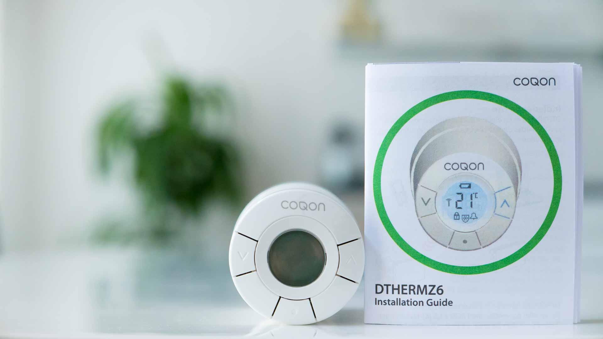 COQON-Heizkörperthermostat-Logo