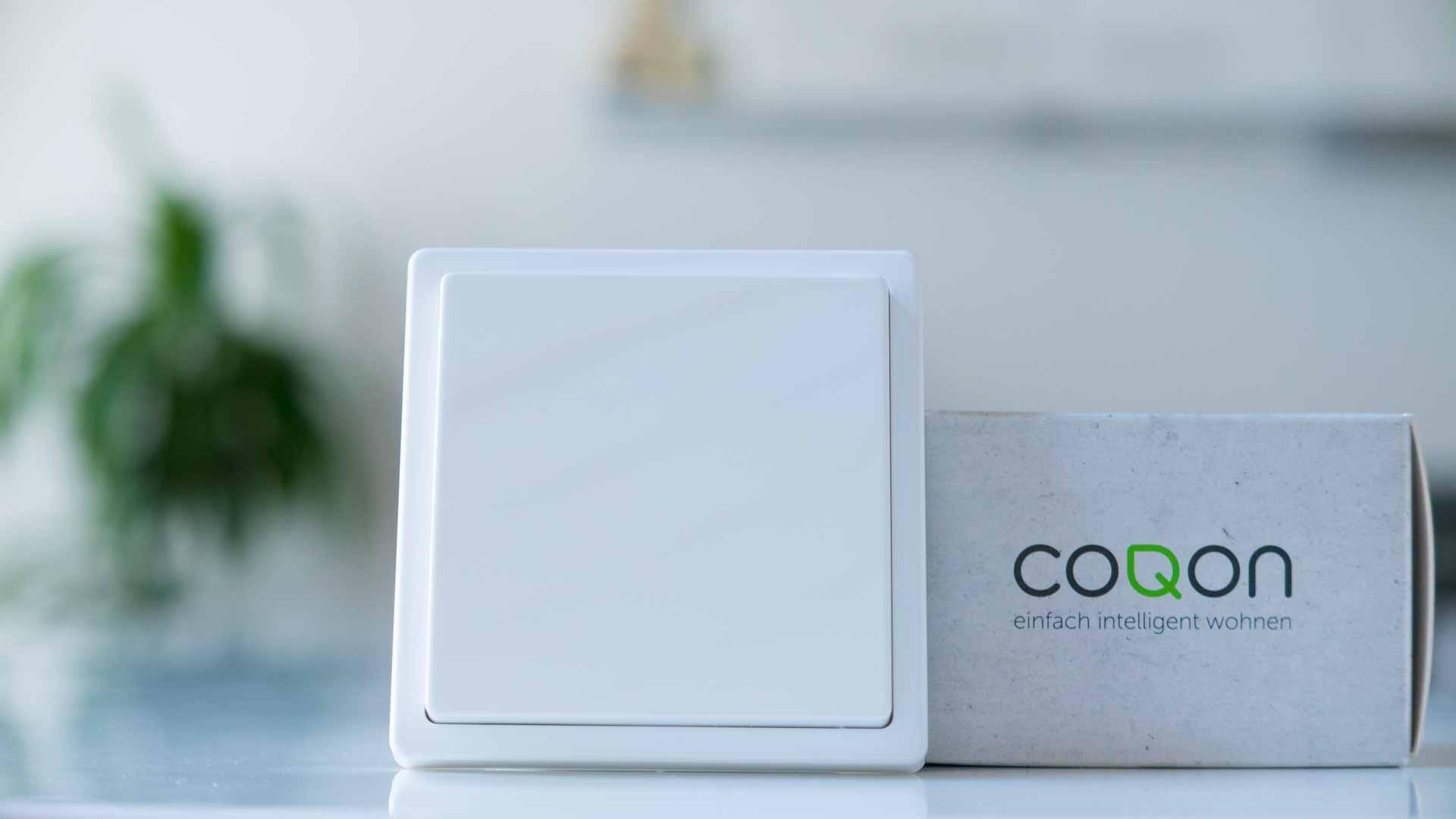 COQON-Wandtaster-Logo