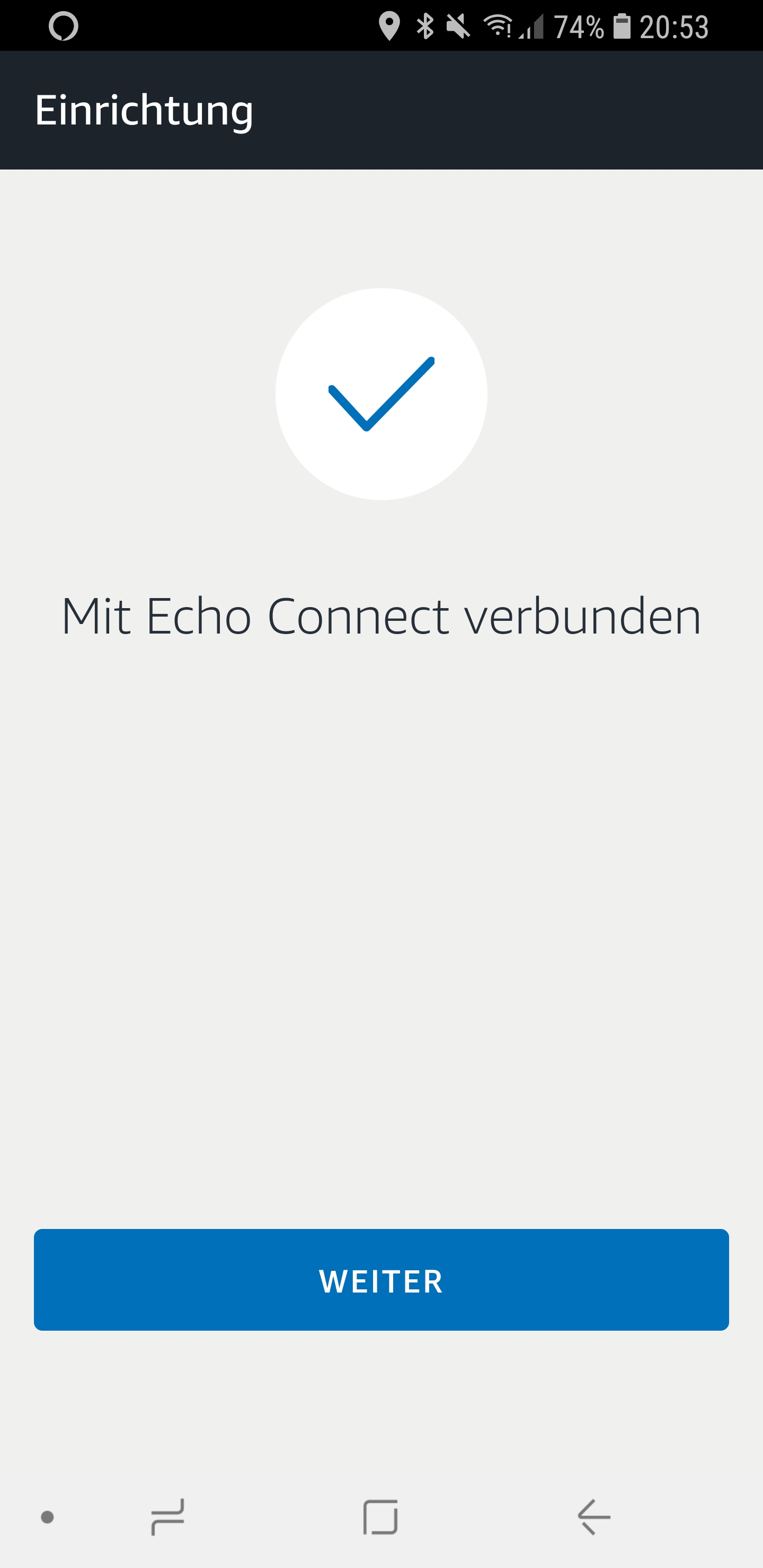Den Echo Connect einrichten 09