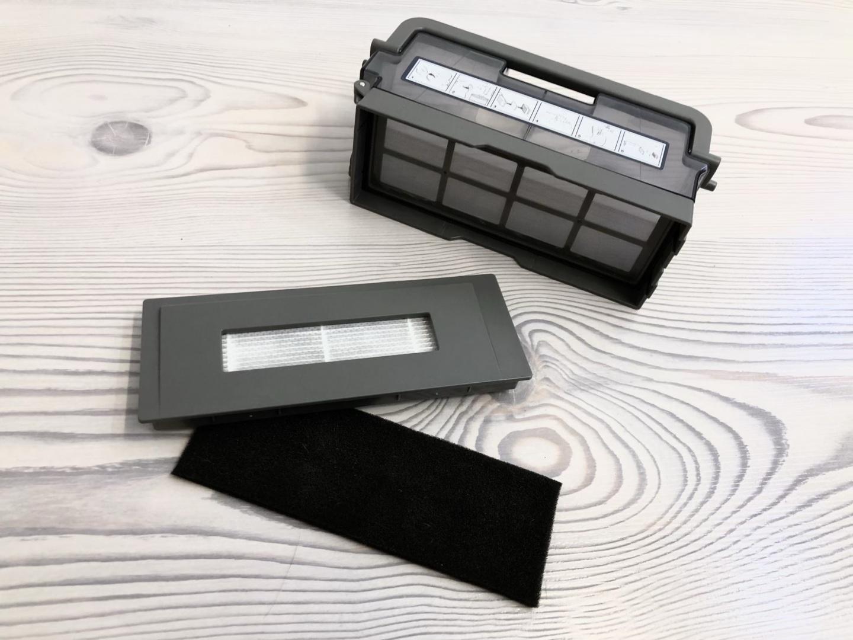 Ecovacs-Deebot-Ozmo-930-Staubbehälter-und-Filter
