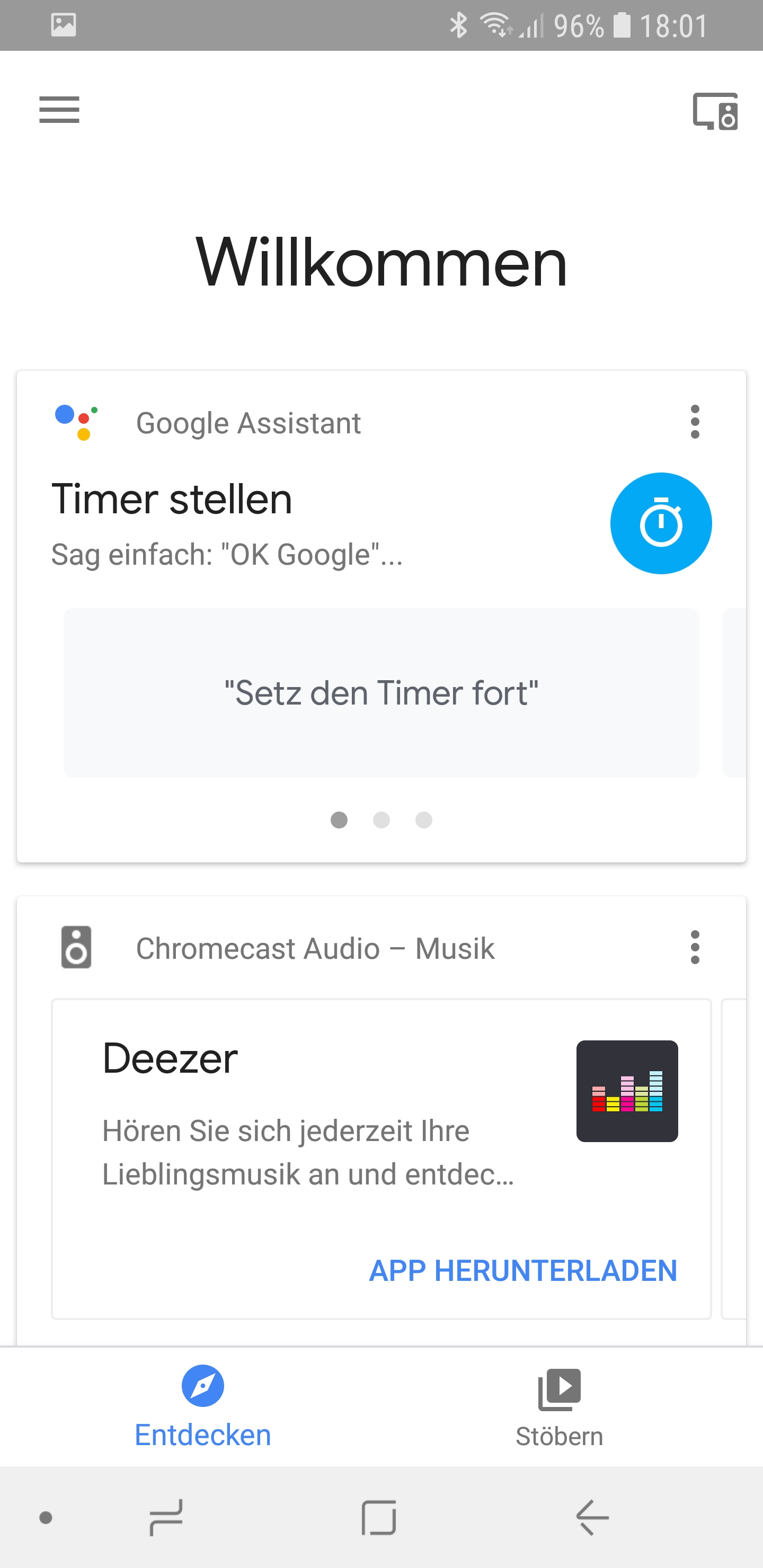 Google Actions Übersicht aufgelistet 01