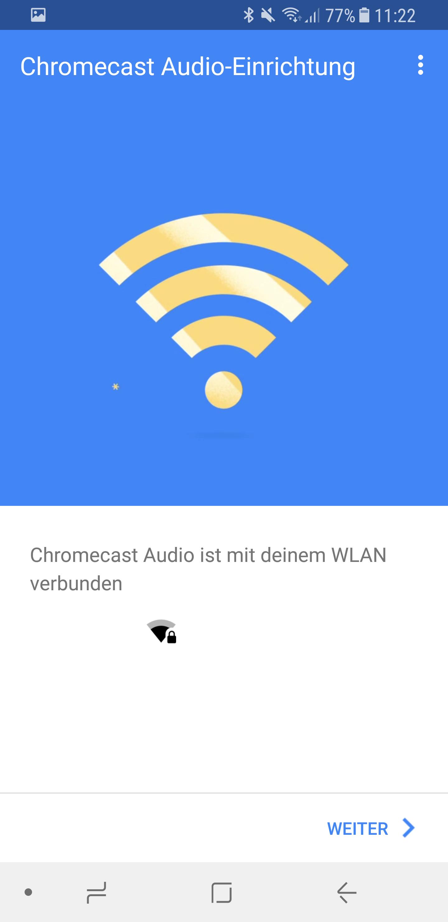 Google Chromecast Audio einrichten 10