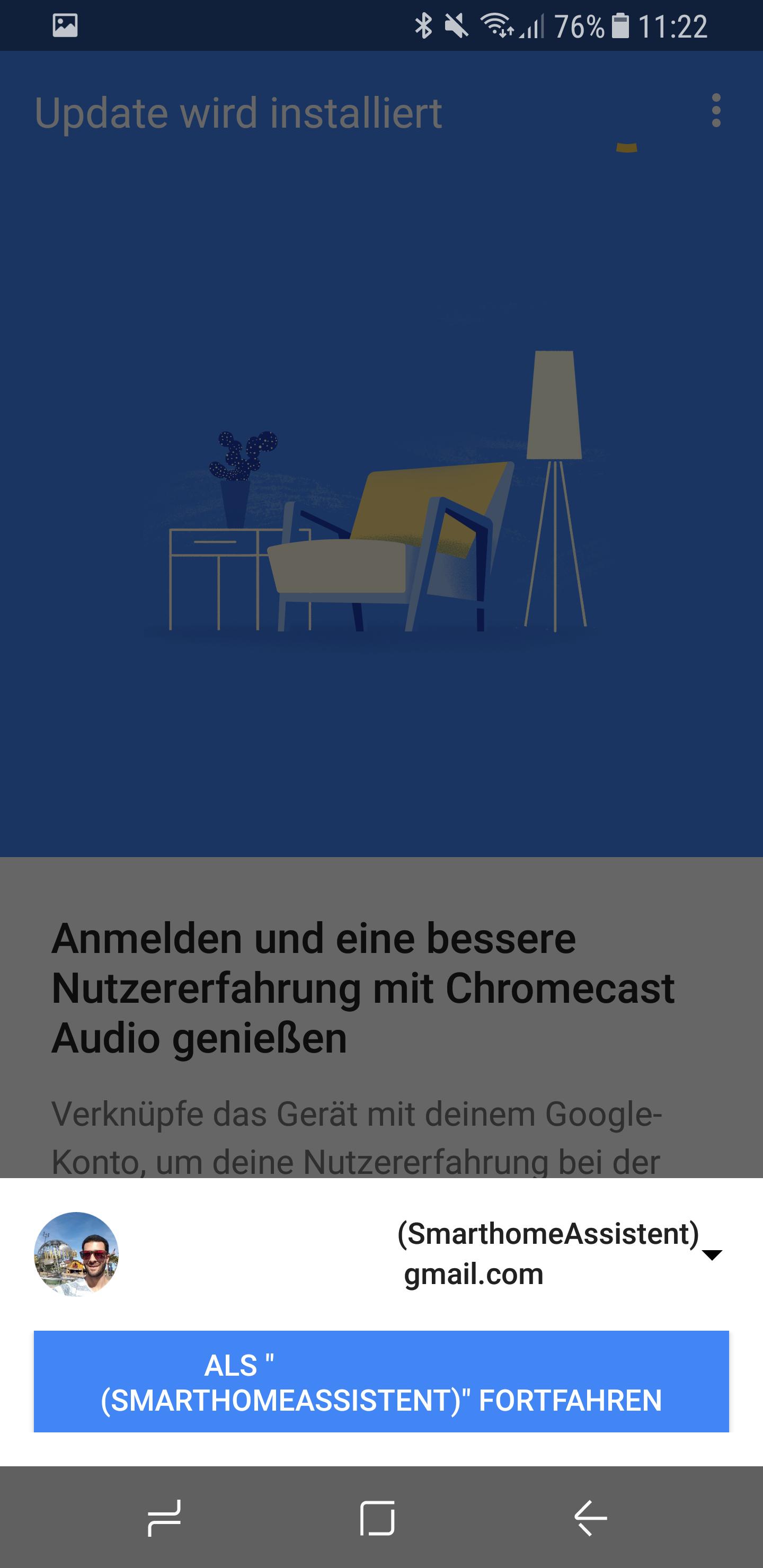 Google Chromecast Audio einrichten 12