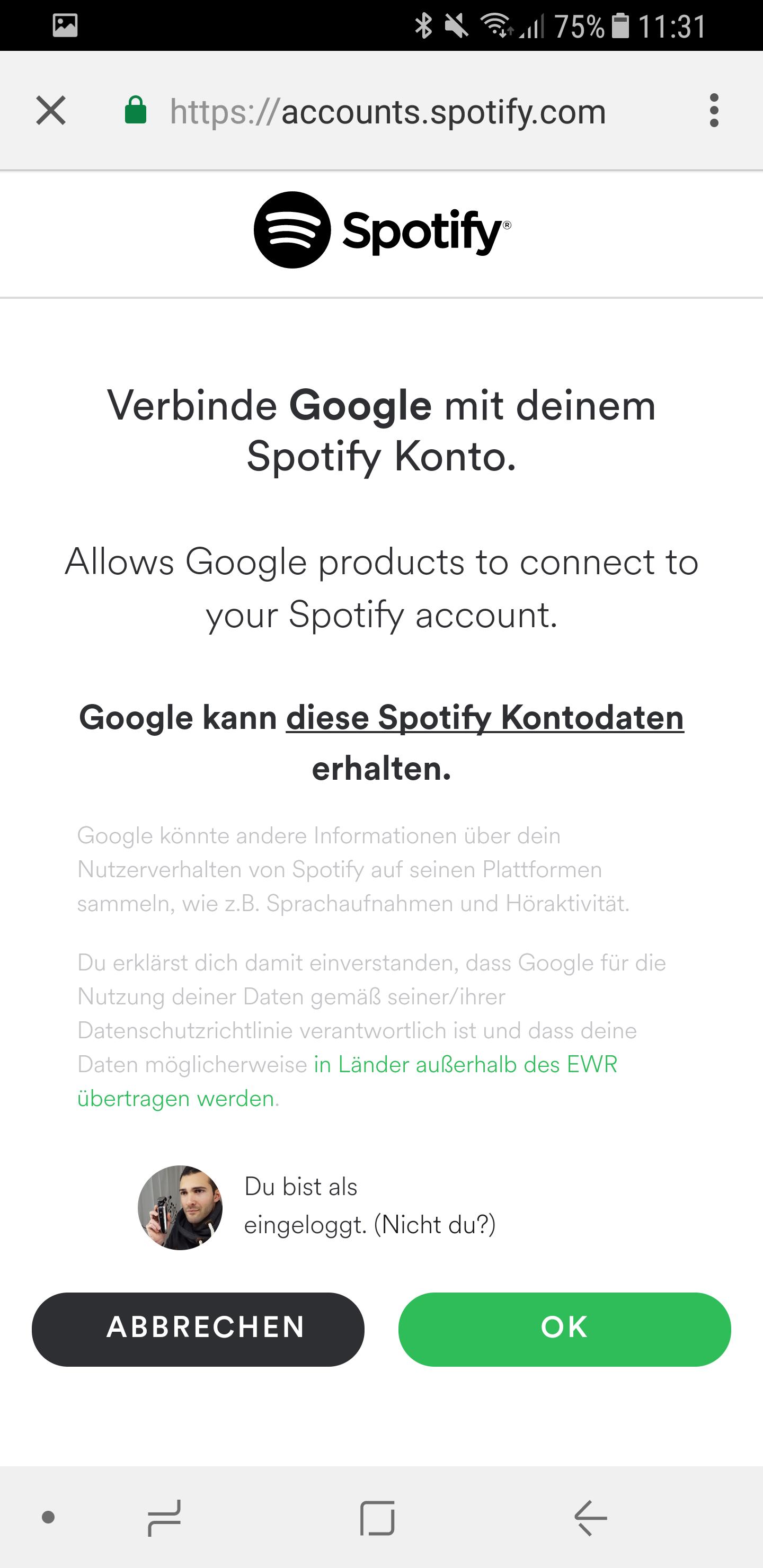 Google Home Musik Spotify einrichten 7