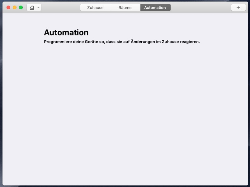 HomeKit am Mac 05