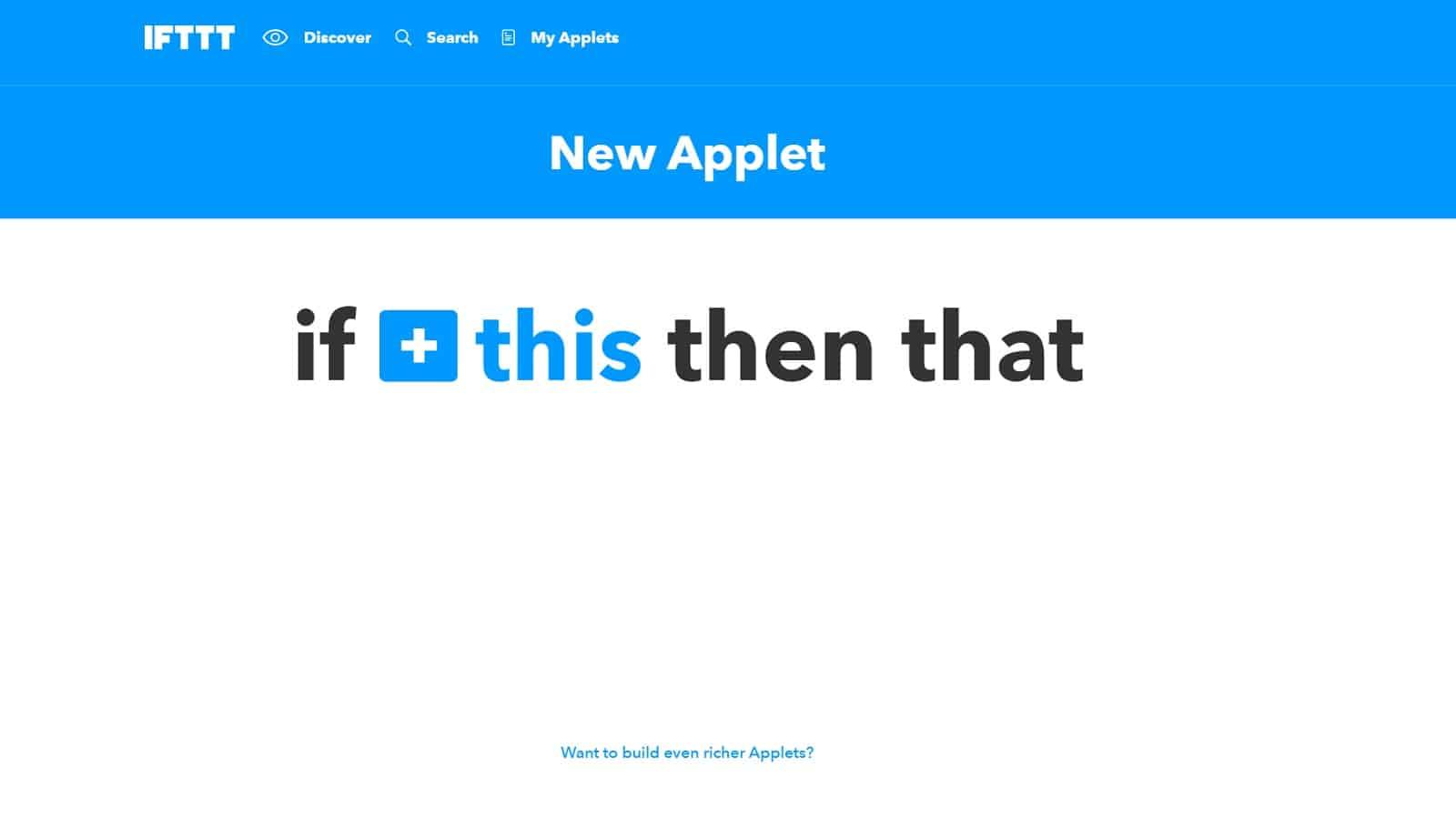 IFTTT-Applet-erstellen-2
