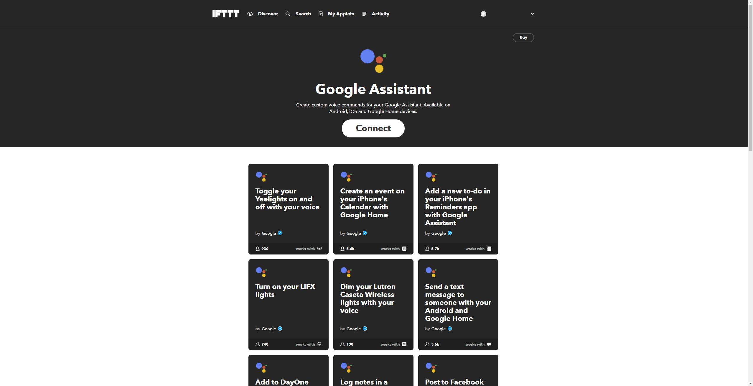 IFTTT-Google-Assistant-hinzufügen-2
