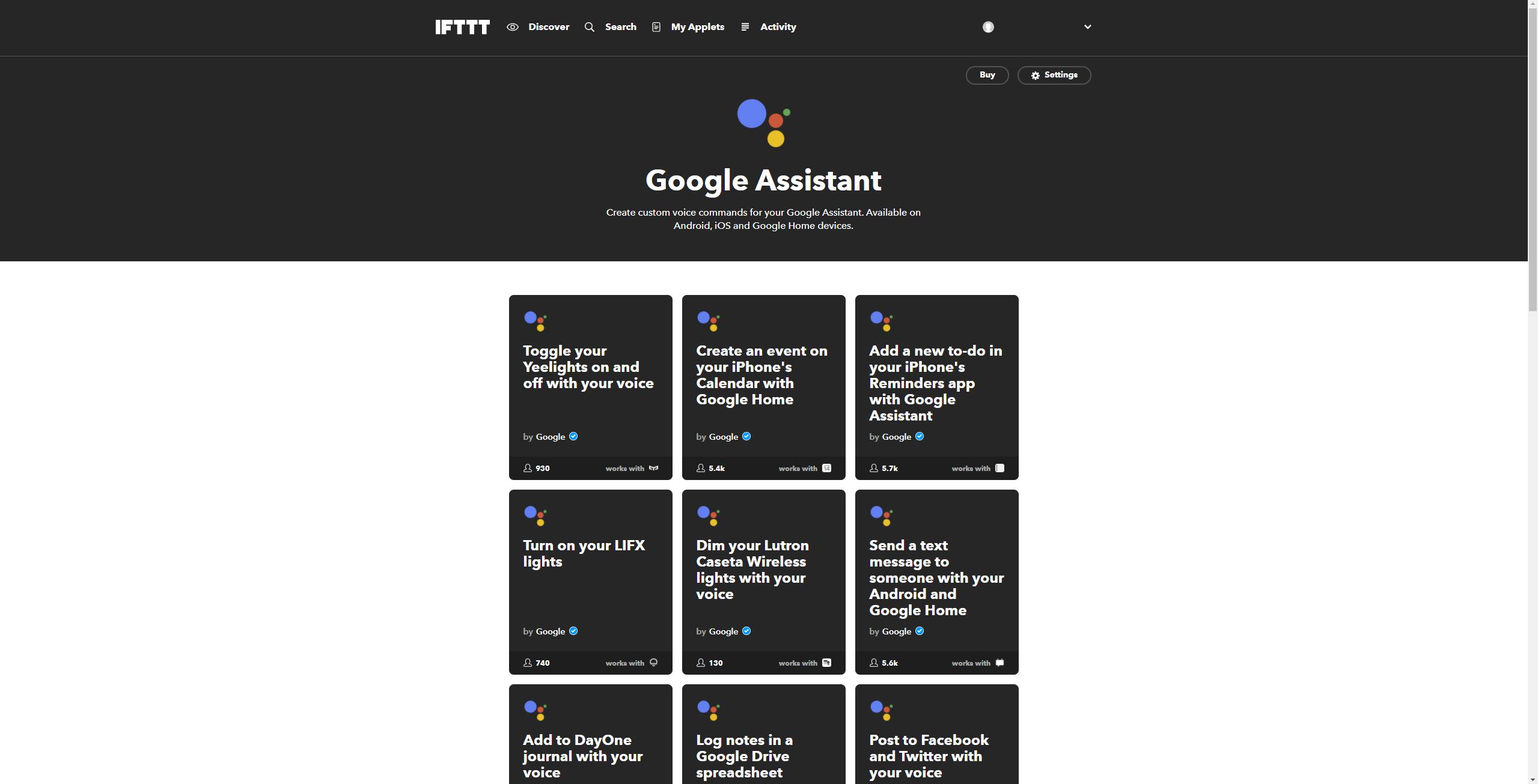 IFTTT-Google-Assistant-hinzufügen-5