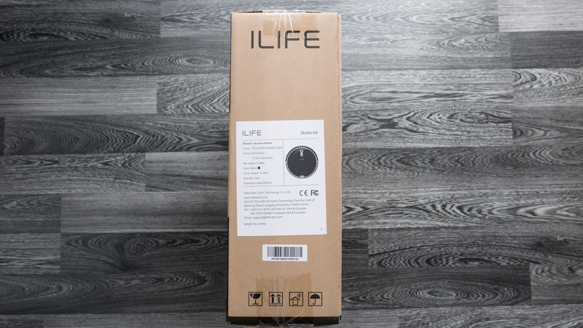 ILIFE A8 Unboxing 02