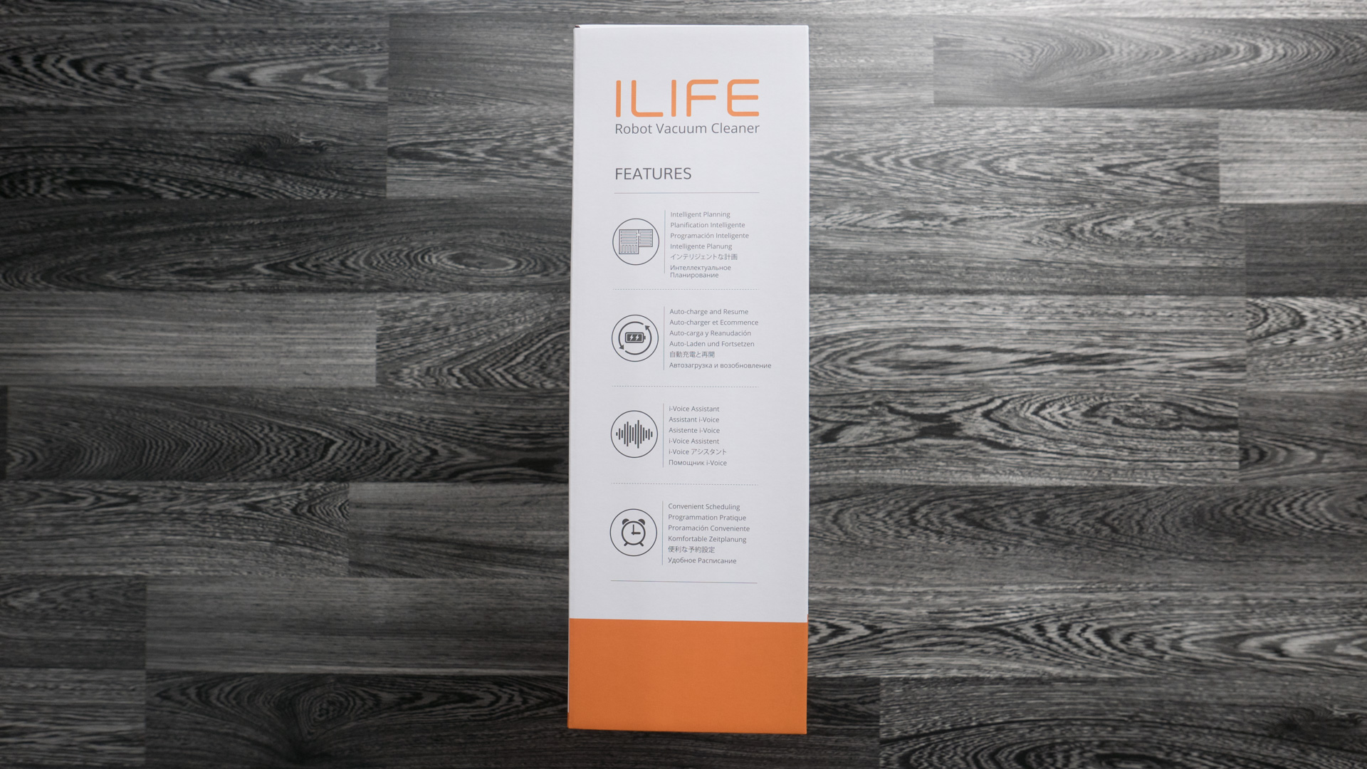 ILIFE A8 Unboxing 07