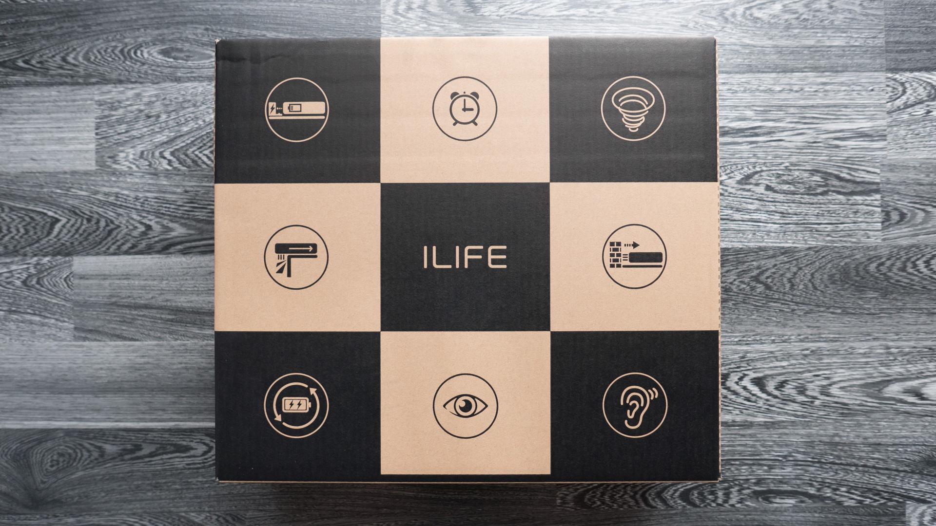 ILIFE V4 Unboxing 02