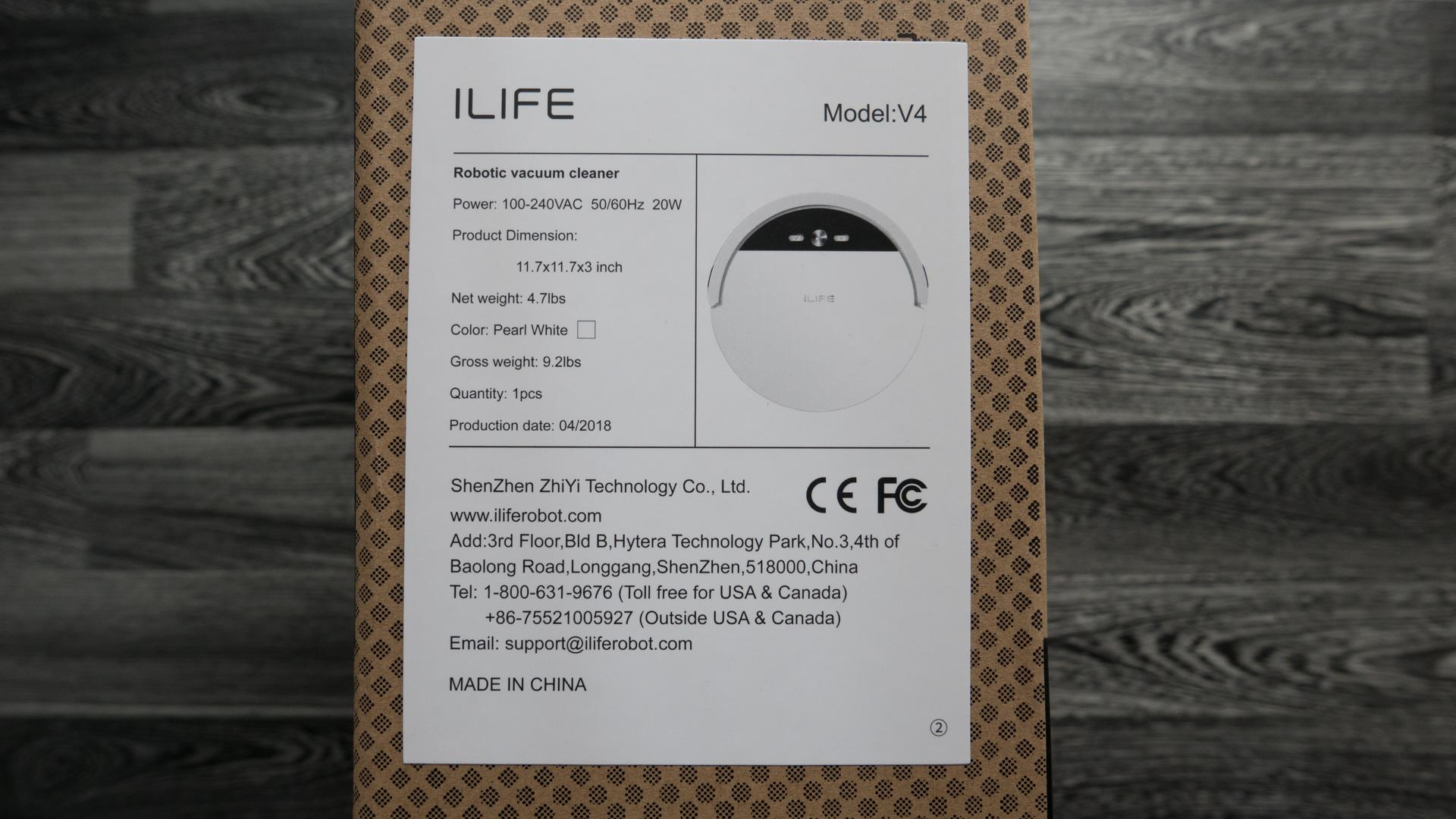 ILIFE V4 Unboxing 04