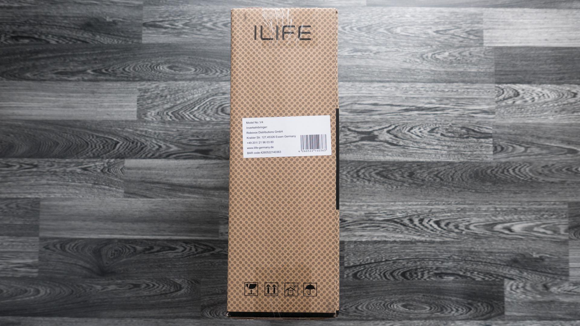 ILIFE V4 Unboxing 05