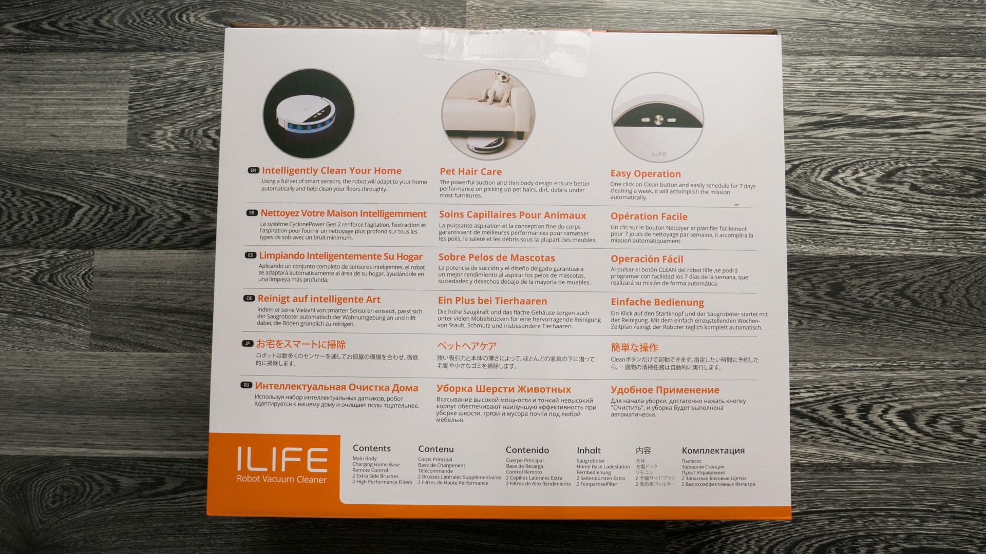 ILIFE V4 Unboxing 09