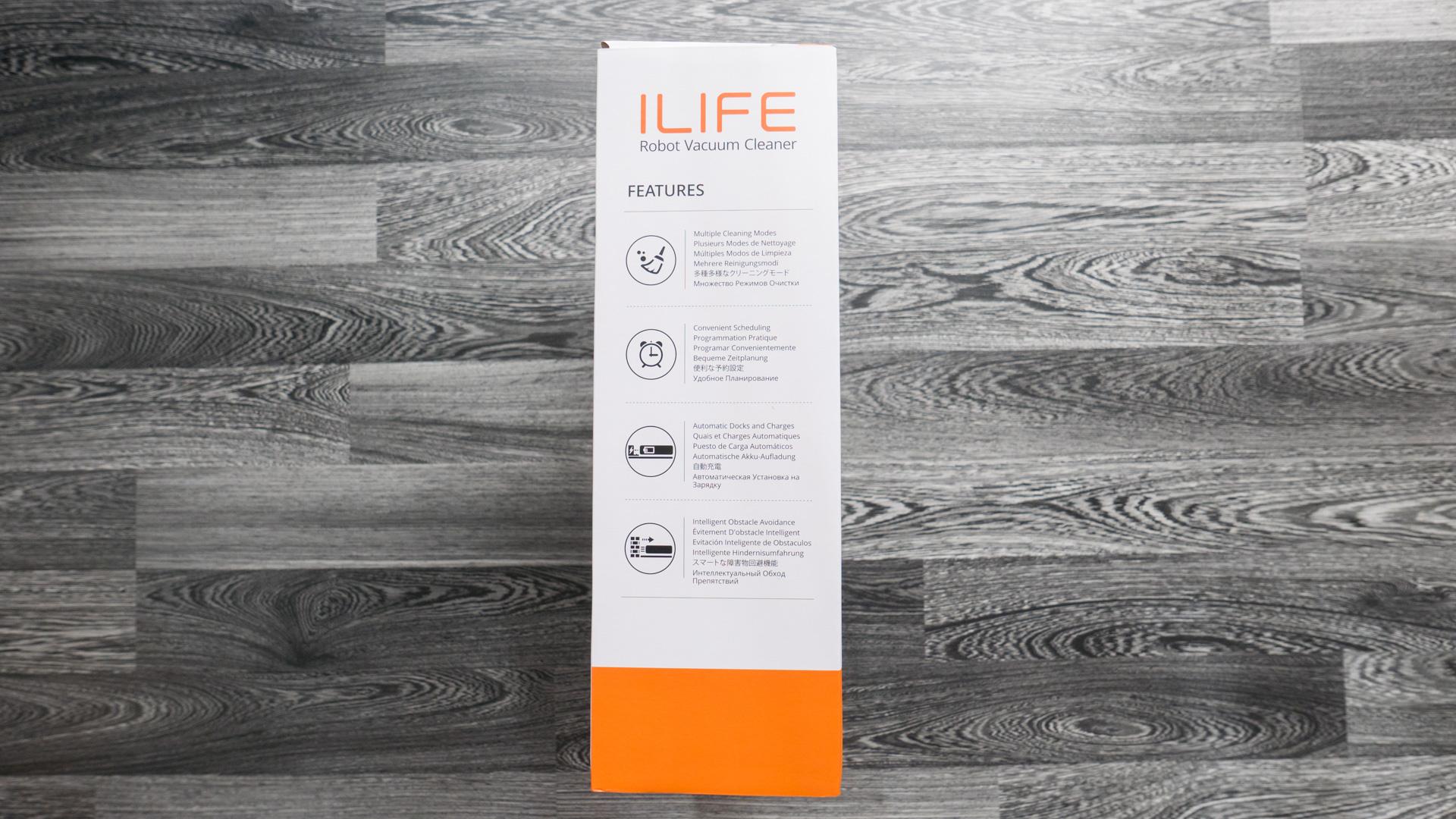 ILIFE V4 Unboxing 11