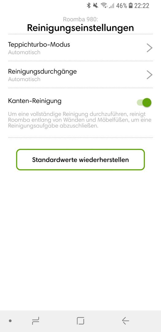 iRobot Roomba 980 App Details 04