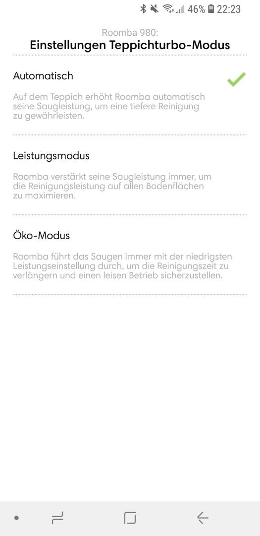 iRobot Roomba 980 App Details 05