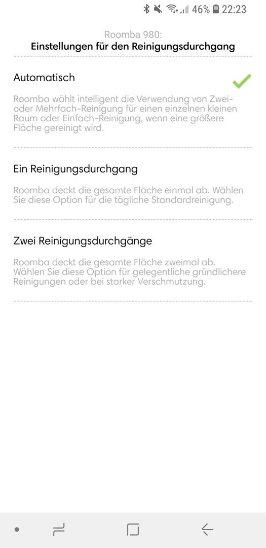 iRobot Roomba 980 App Details 06