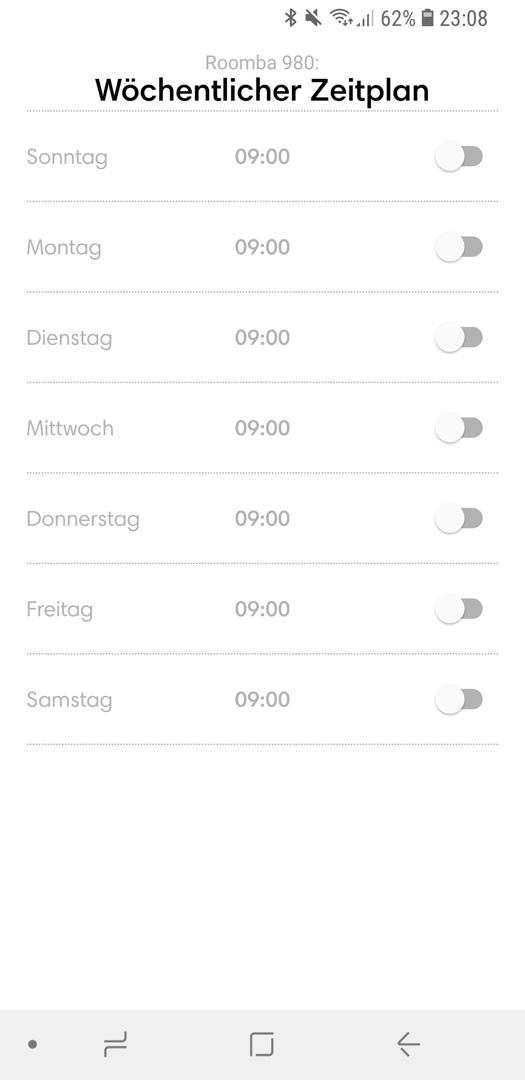 iRobot Roomba 980 App Details 11