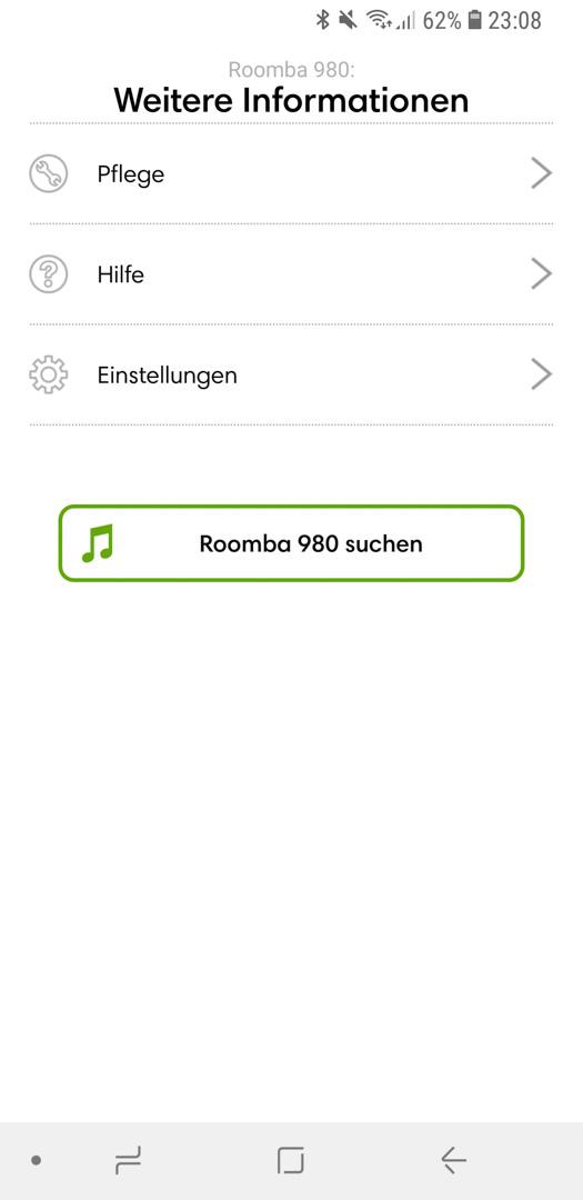 iRobot Roomba 980 App Details 12