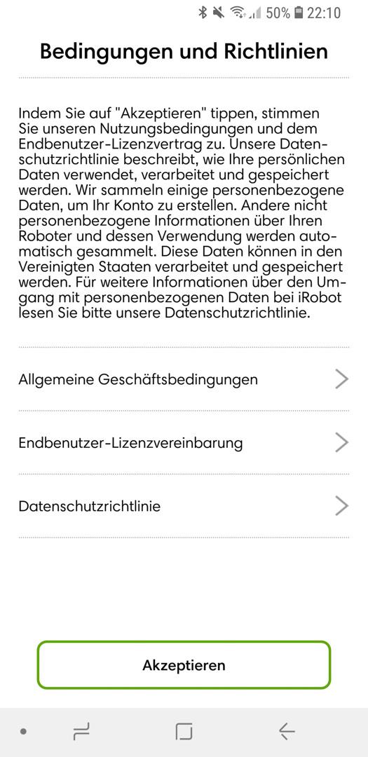 iRobot Roomba 980 App installieren 06